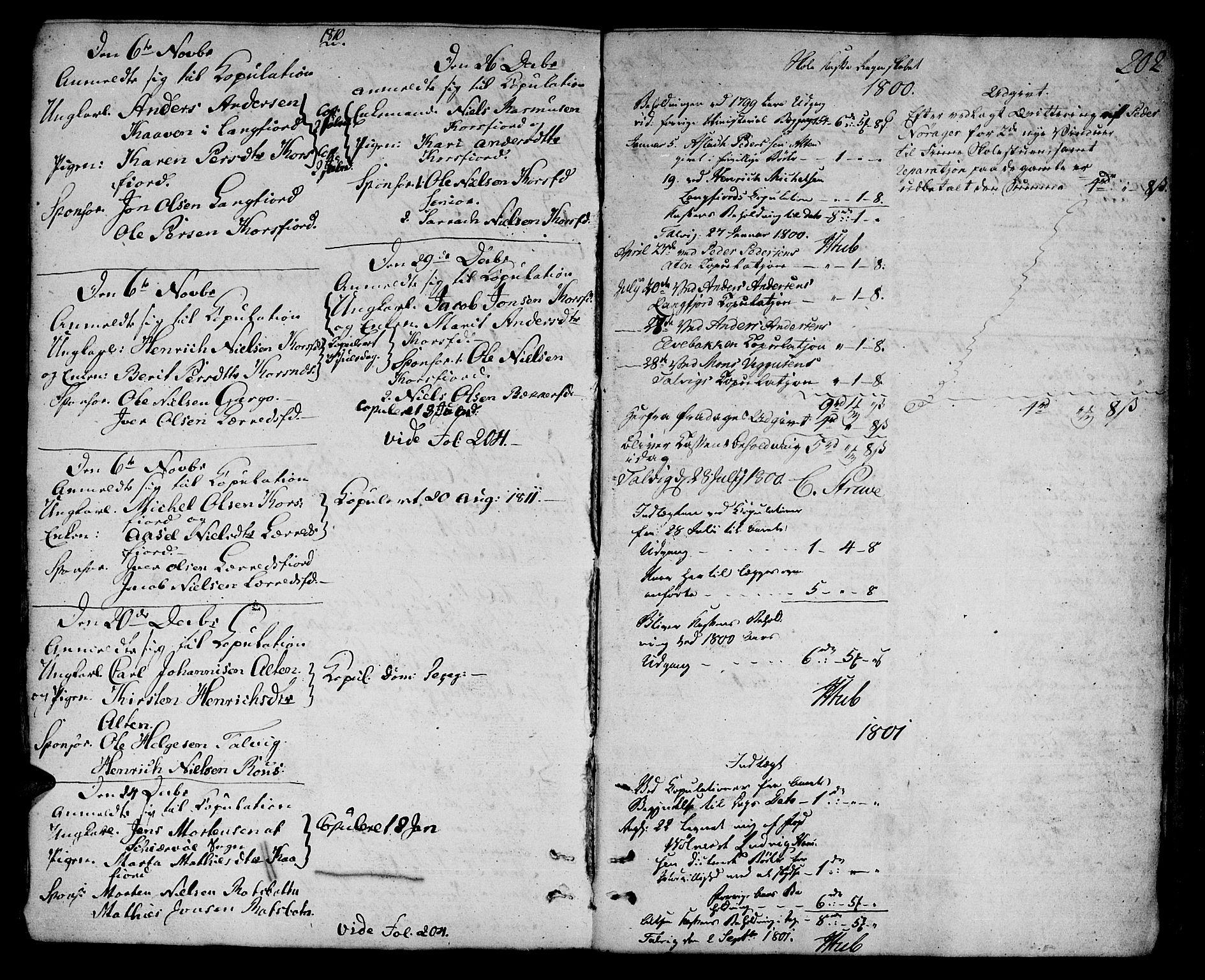 SATØ, Talvik sokneprestkontor, H/Ha/L0006kirke: Ministerialbok nr. 6, 1799-1812, s. 202