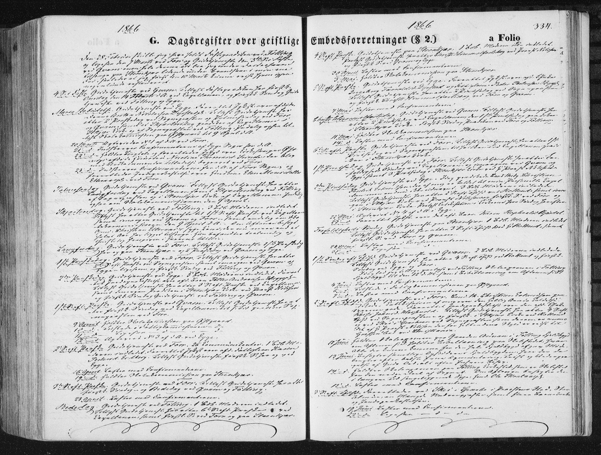 SAT, Ministerialprotokoller, klokkerbøker og fødselsregistre - Nord-Trøndelag, 746/L0447: Ministerialbok nr. 746A06, 1860-1877, s. 334