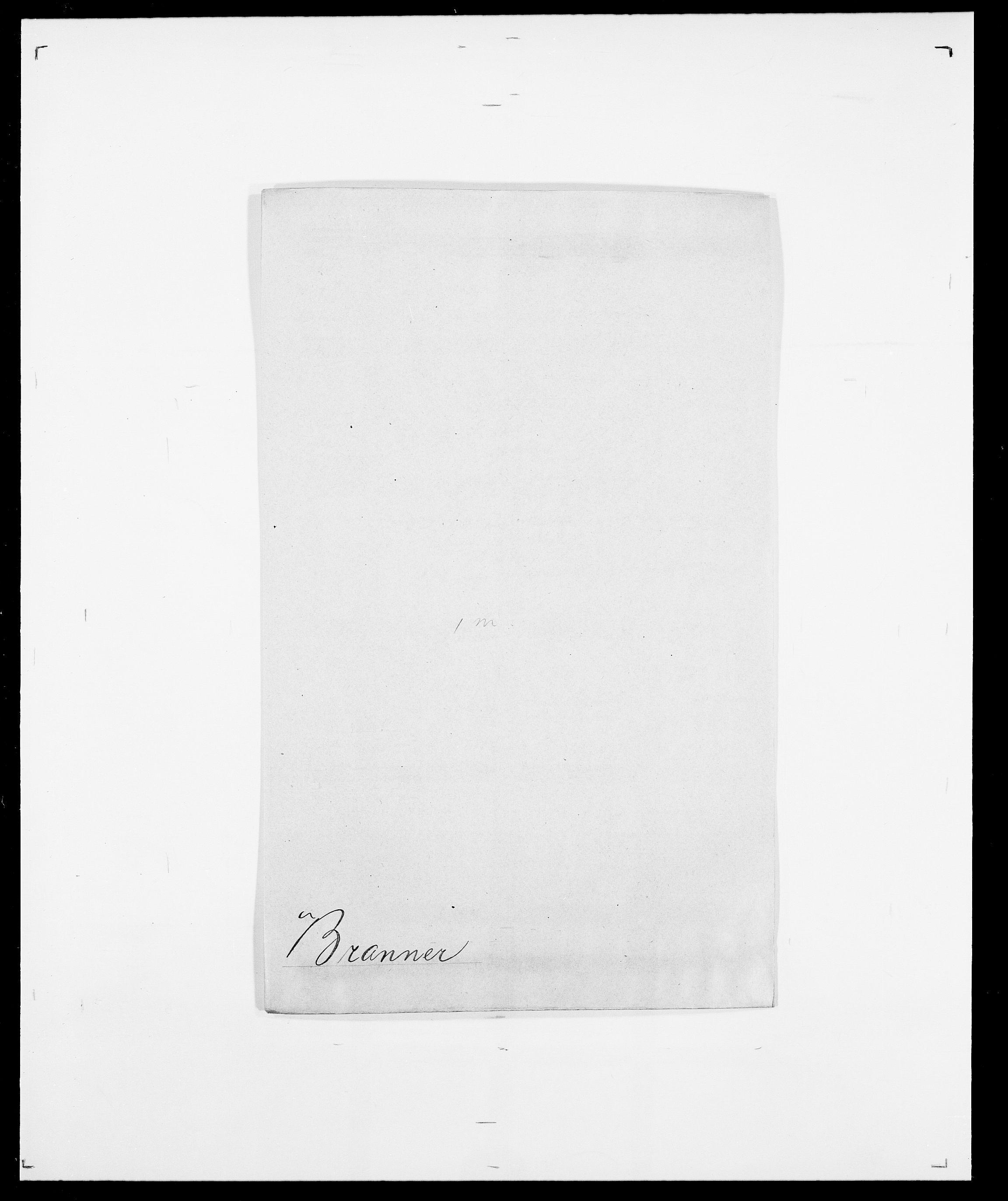SAO, Delgobe, Charles Antoine - samling, D/Da/L0006: Brambani - Brønø, s. 167