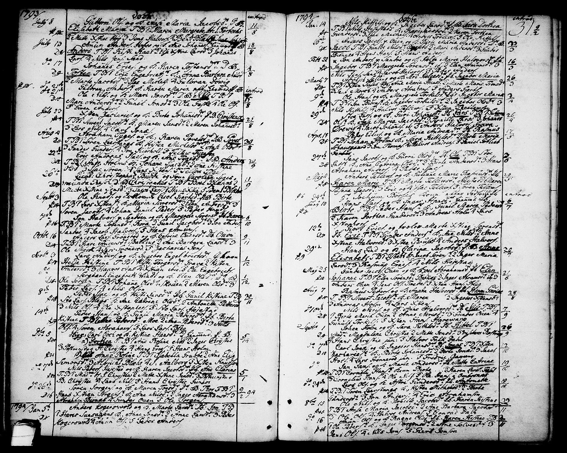 SAKO, Brevik kirkebøker, F/Fa/L0003: Ministerialbok nr. 3, 1764-1814, s. 31