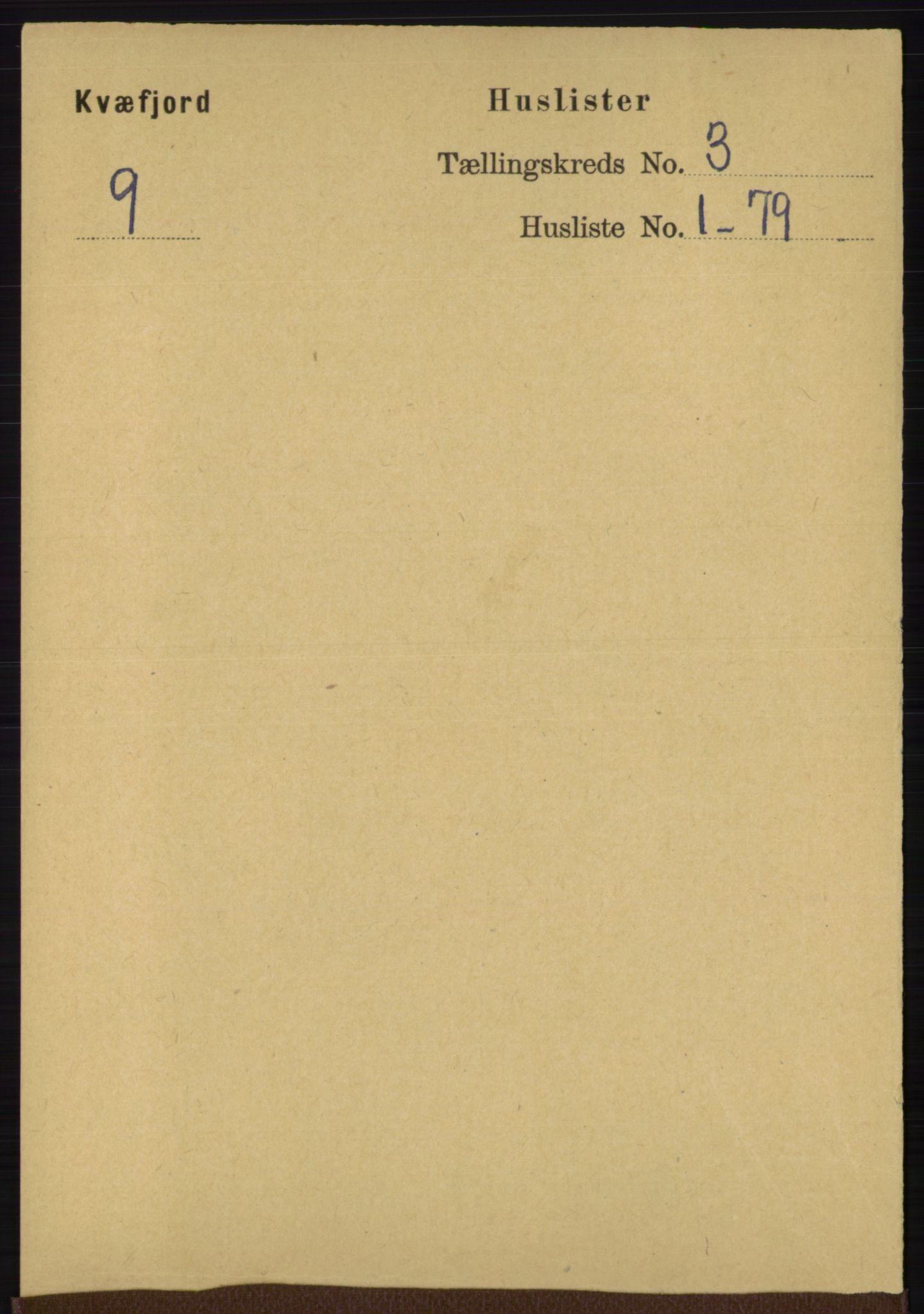 RA, Folketelling 1891 for 1911 Kvæfjord herred, 1891, s. 1220