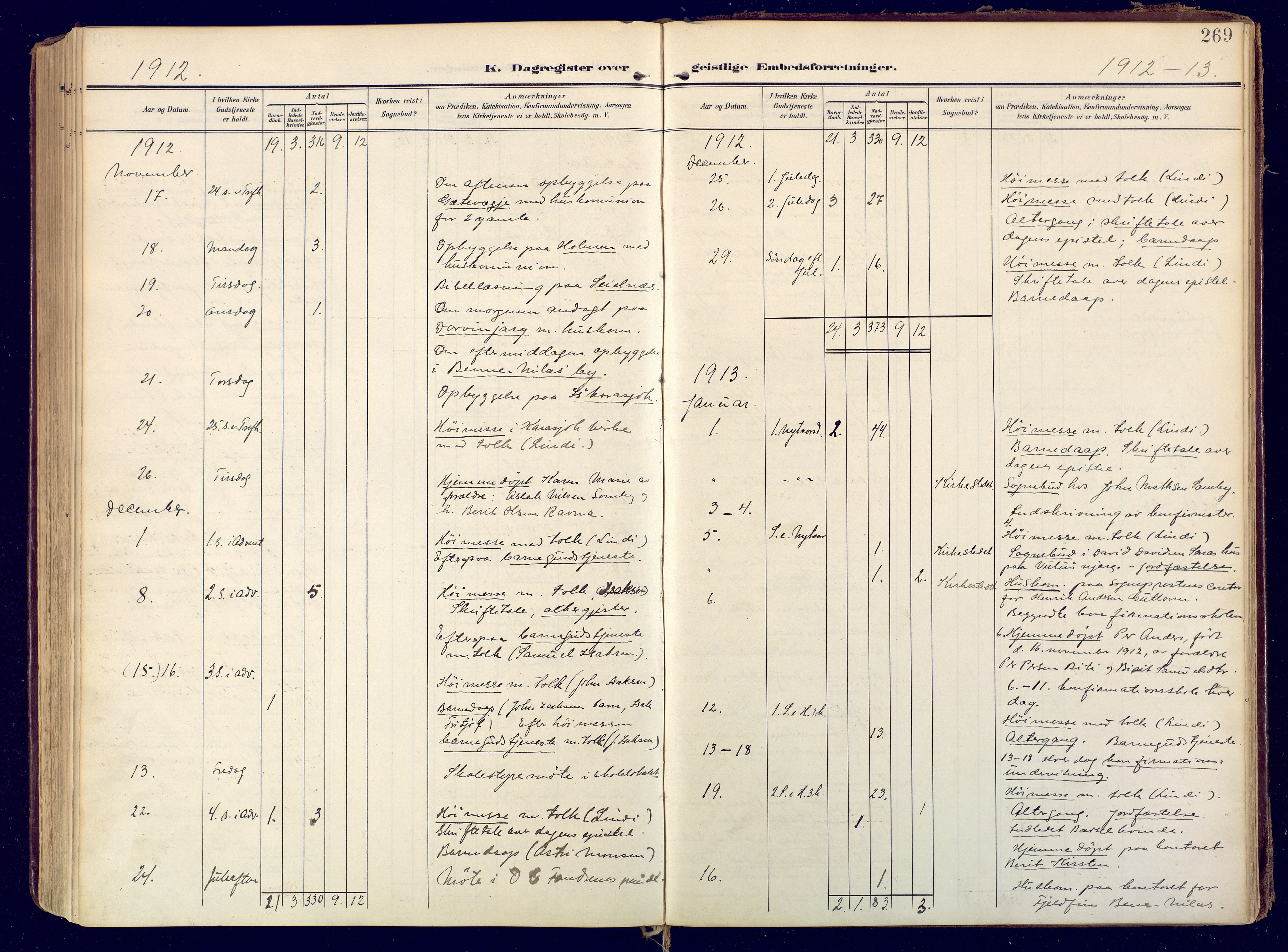 SATØ, Karasjok sokneprestkontor, H/Ha: Ministerialbok nr. 3, 1907-1926, s. 269