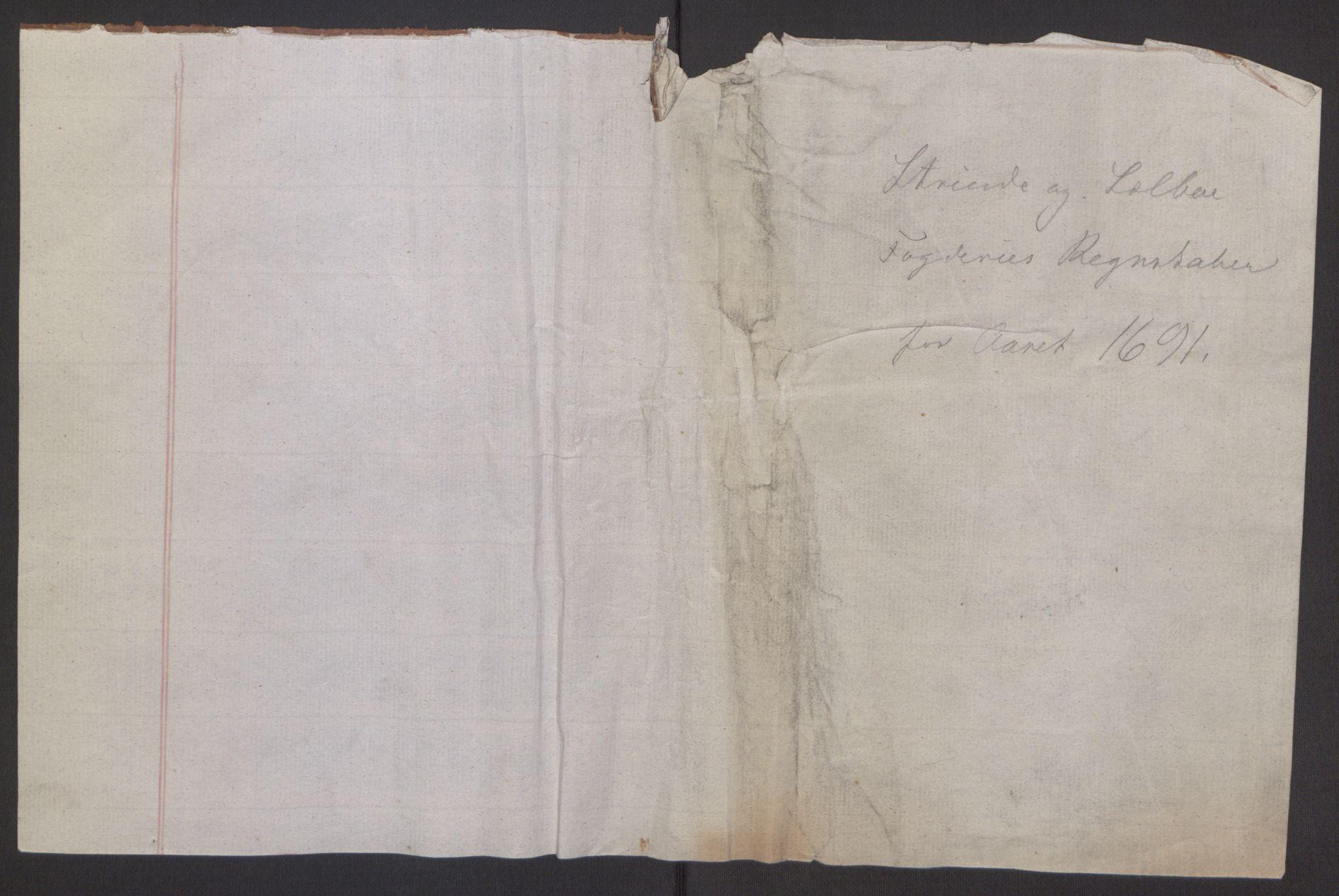 RA, Rentekammeret inntil 1814, Reviderte regnskaper, Fogderegnskap, R61/L4103: Fogderegnskap Strinda og Selbu, 1691-1692, s. 155
