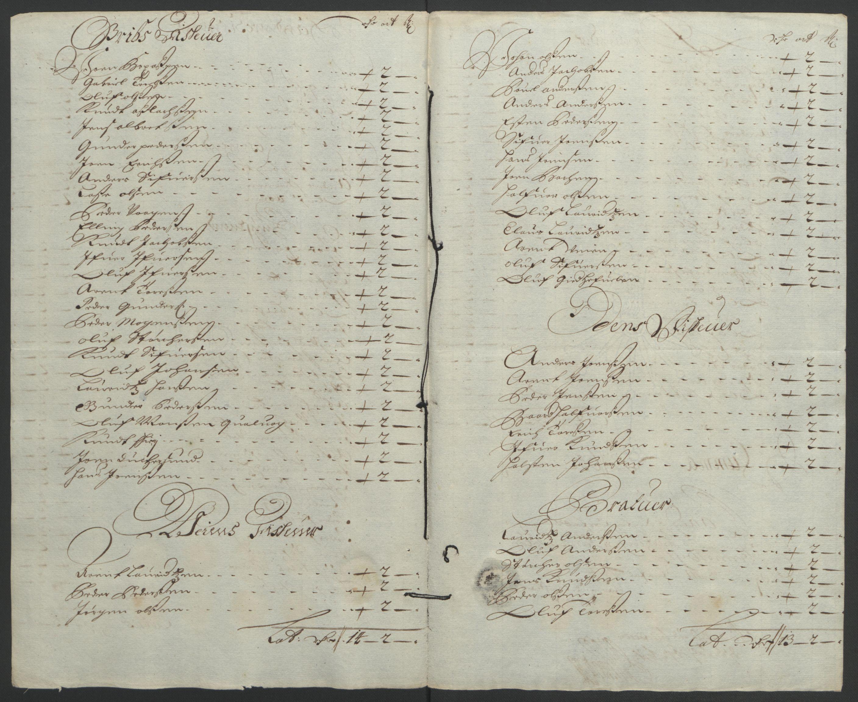 RA, Rentekammeret inntil 1814, Reviderte regnskaper, Fogderegnskap, R56/L3734: Fogderegnskap Nordmøre, 1690-1691, s. 297