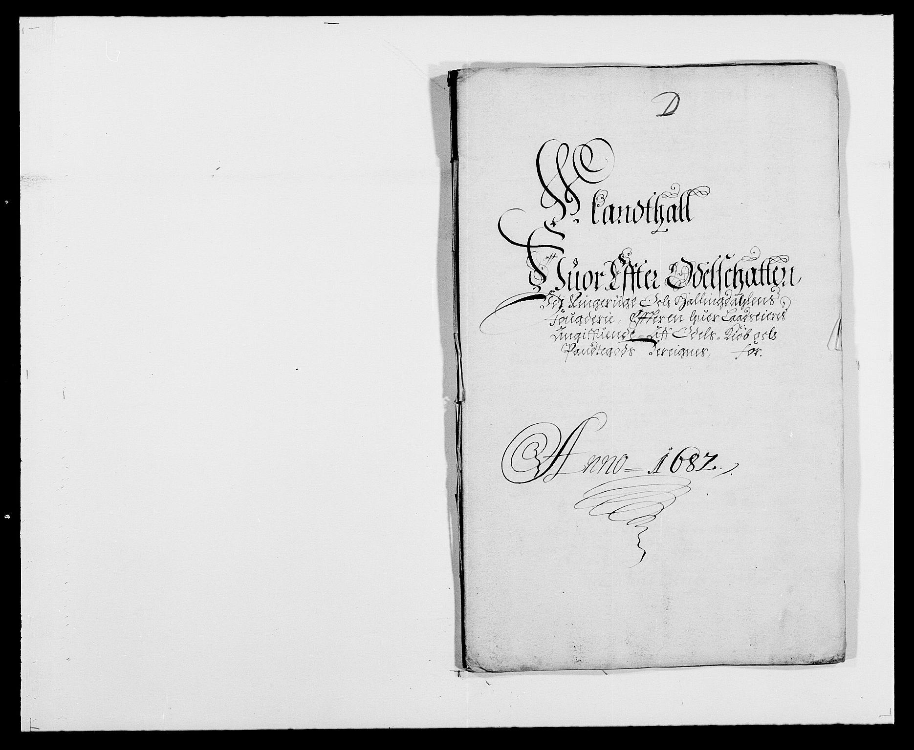 RA, Rentekammeret inntil 1814, Reviderte regnskaper, Fogderegnskap, R21/L1445: Fogderegnskap Ringerike og Hallingdal, 1681-1689, s. 355