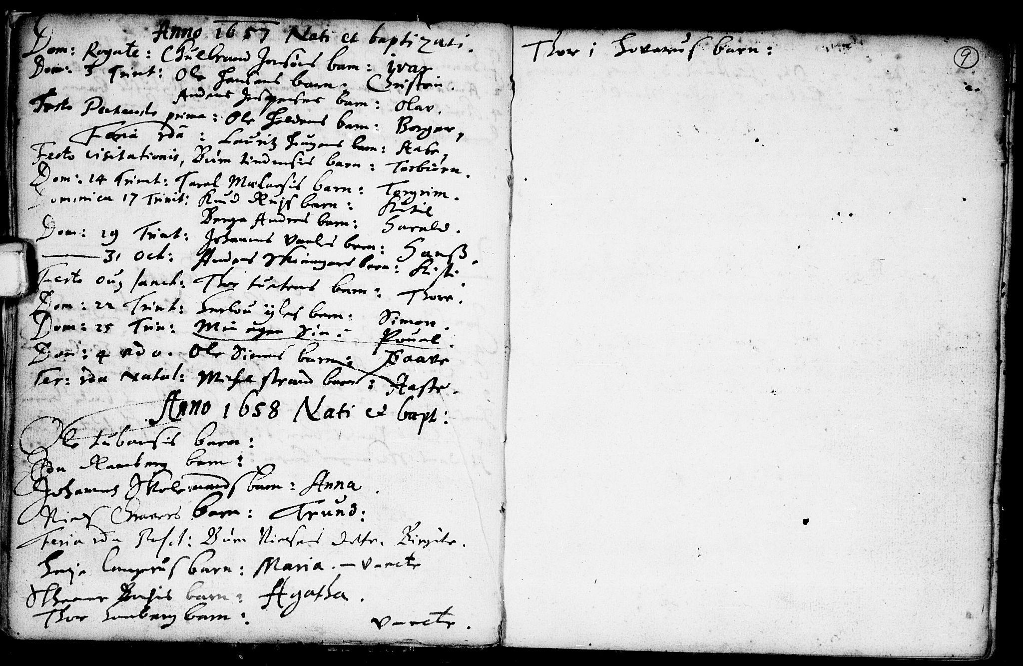 SAKO, Heddal kirkebøker, F/Fa/L0001: Ministerialbok nr. I 1, 1648-1699, s. 9