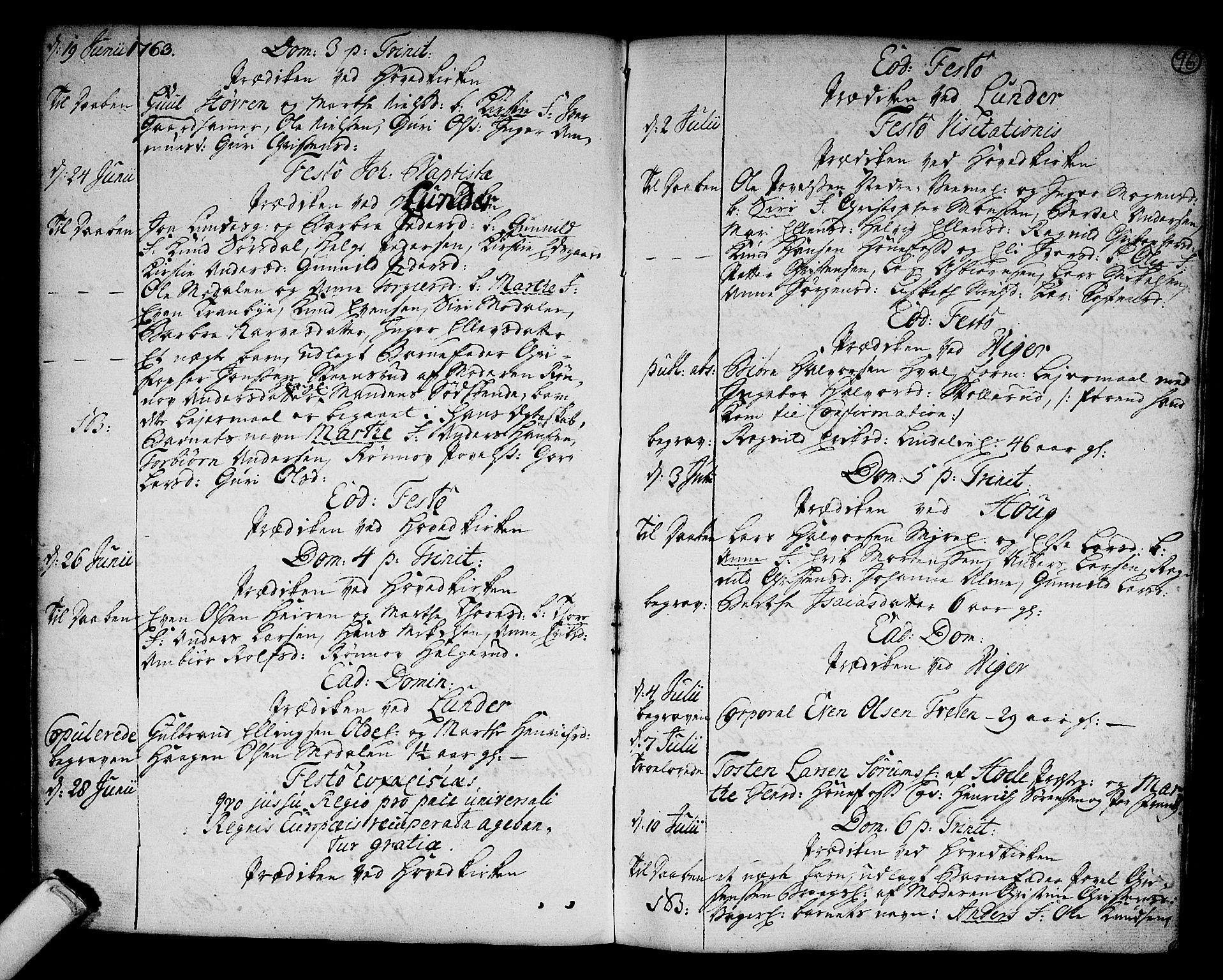 SAKO, Norderhov kirkebøker, F/Fa/L0004: Ministerialbok nr. 4, 1758-1774, s. 96