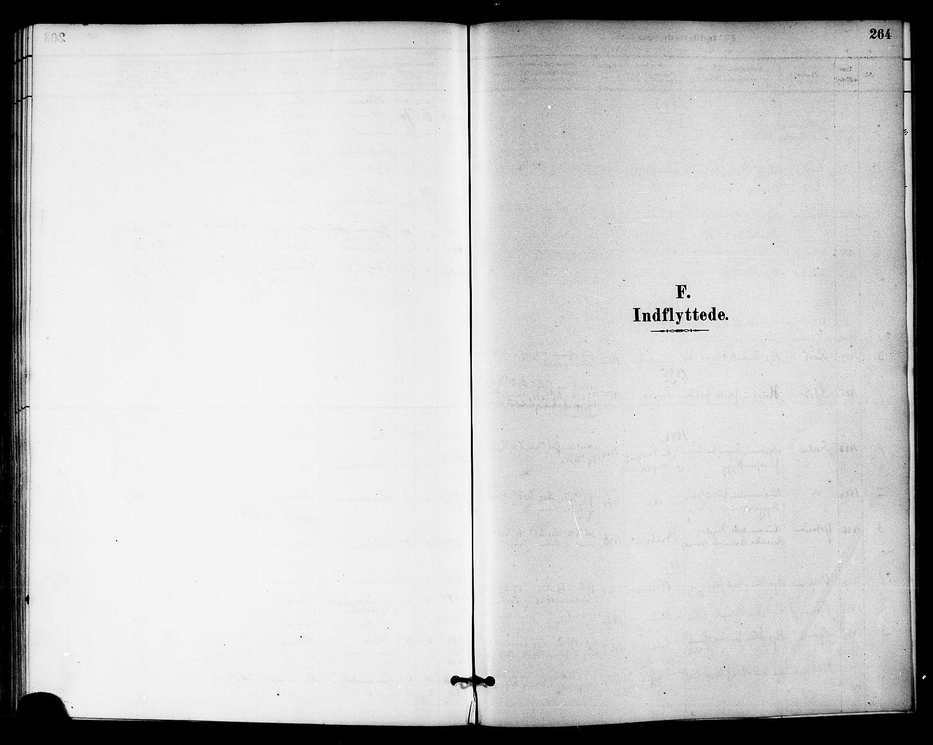 SAT, Ministerialprotokoller, klokkerbøker og fødselsregistre - Sør-Trøndelag, 655/L0680: Ministerialbok nr. 655A09, 1880-1894, s. 264