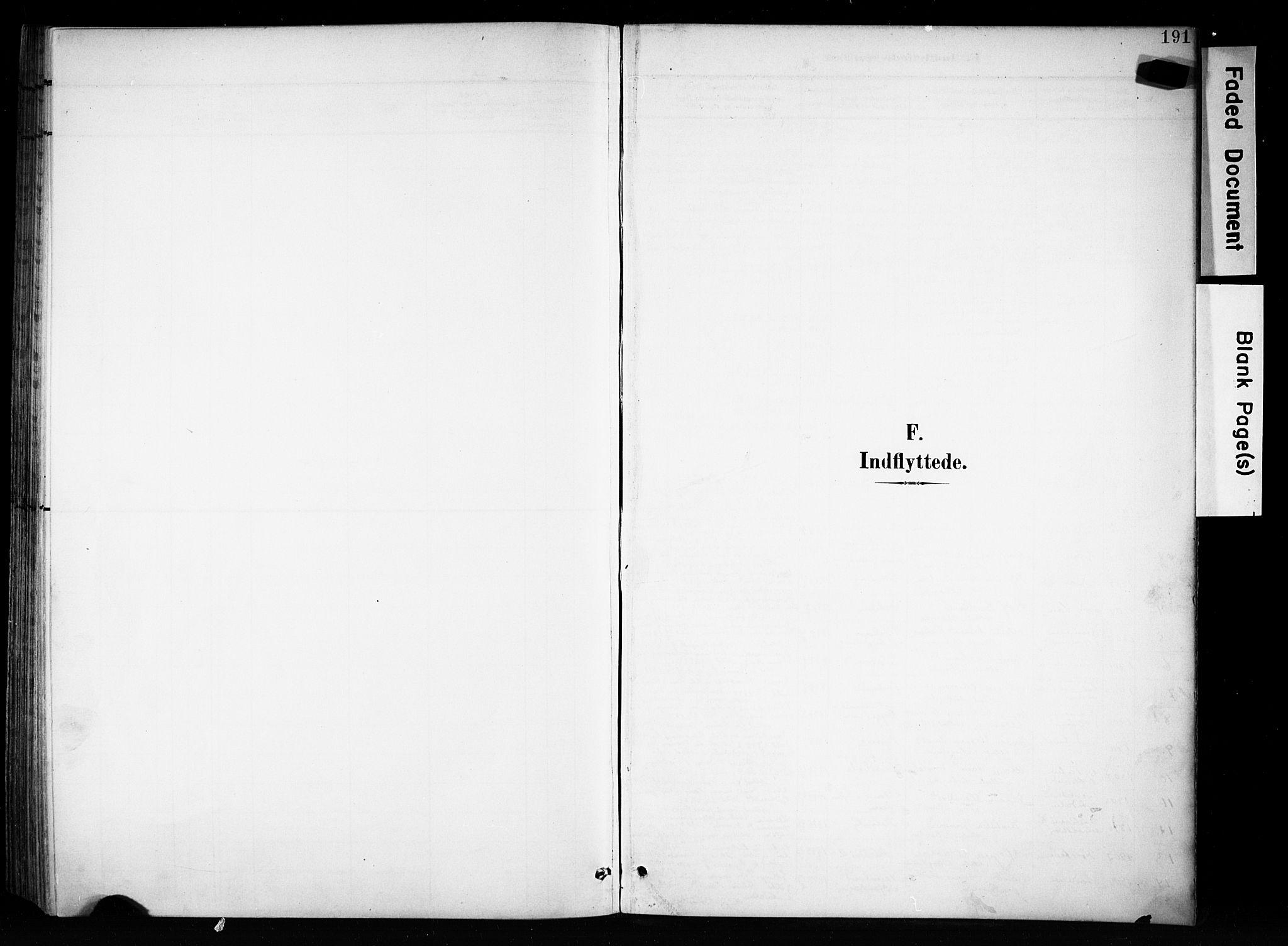 SAH, Brandbu prestekontor, Ministerialbok nr. 1, 1900-1912, s. 191