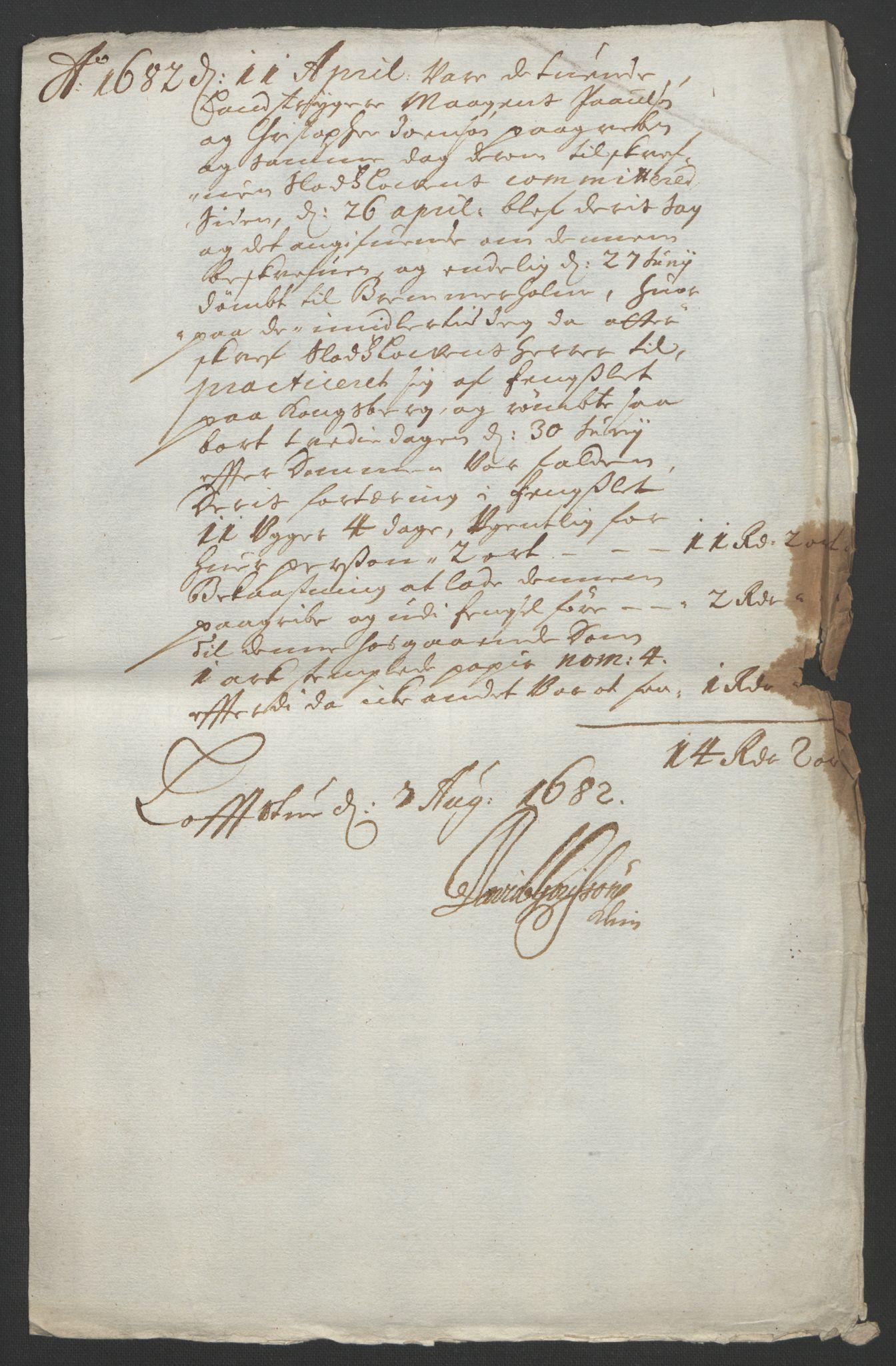 RA, Rentekammeret inntil 1814, Reviderte regnskaper, Fogderegnskap, R24/L1572: Fogderegnskap Numedal og Sandsvær, 1679-1686, s. 228