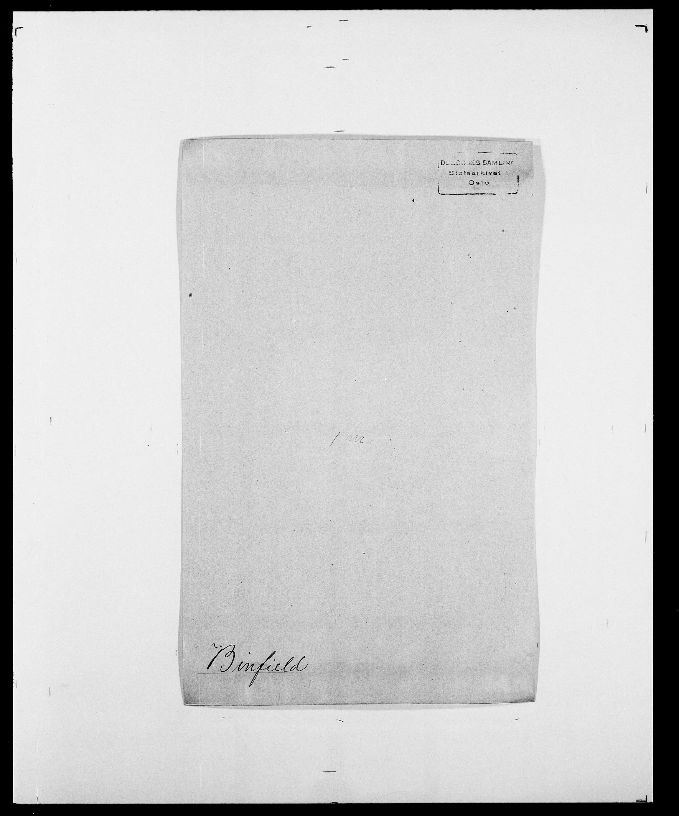 SAO, Delgobe, Charles Antoine - samling, D/Da/L0004: Bergendahl - Blære, s. 318