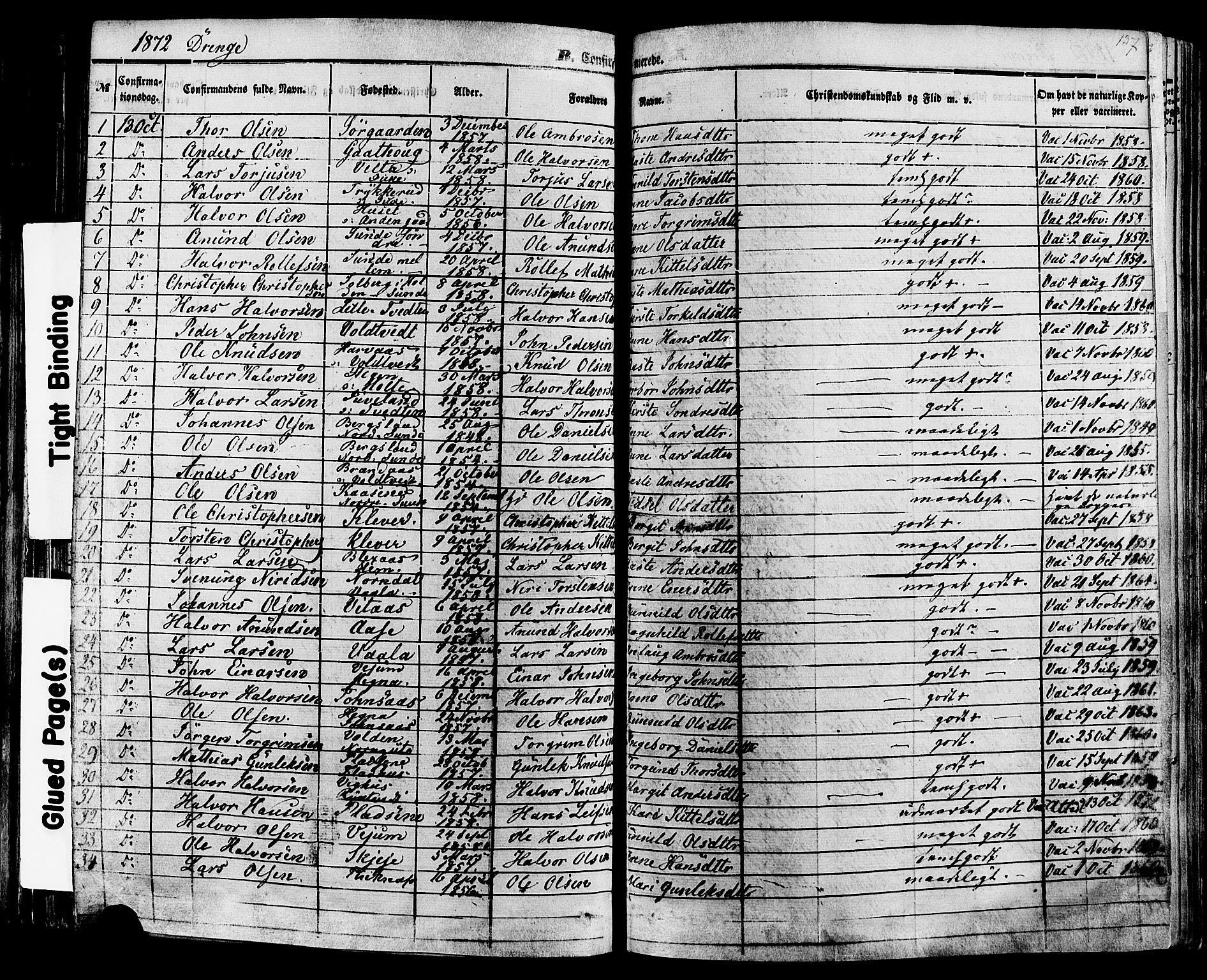 SAKO, Sauherad kirkebøker, F/Fa/L0007: Ministerialbok nr. I 7, 1851-1873, s. 137