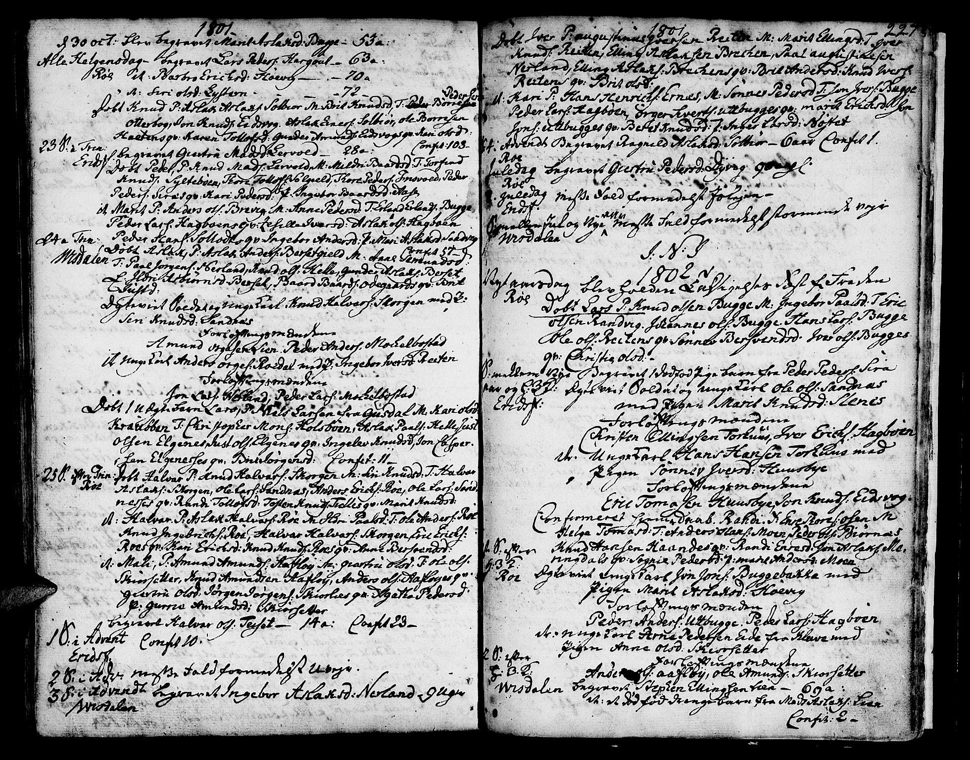 SAT, Ministerialprotokoller, klokkerbøker og fødselsregistre - Møre og Romsdal, 551/L0621: Ministerialbok nr. 551A01, 1757-1803, s. 227