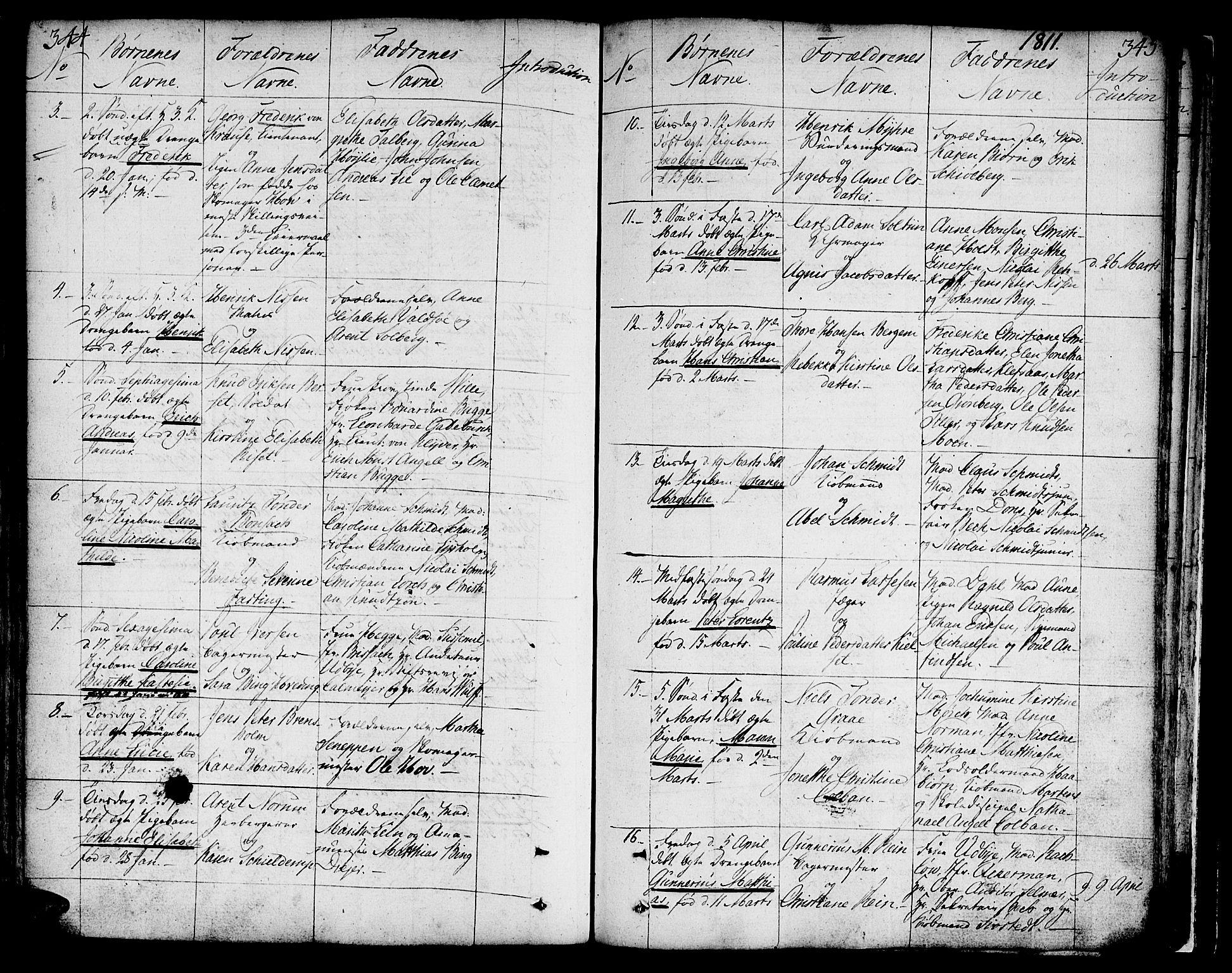 SAT, Ministerialprotokoller, klokkerbøker og fødselsregistre - Sør-Trøndelag, 602/L0104: Ministerialbok nr. 602A02, 1774-1814, s. 344-345