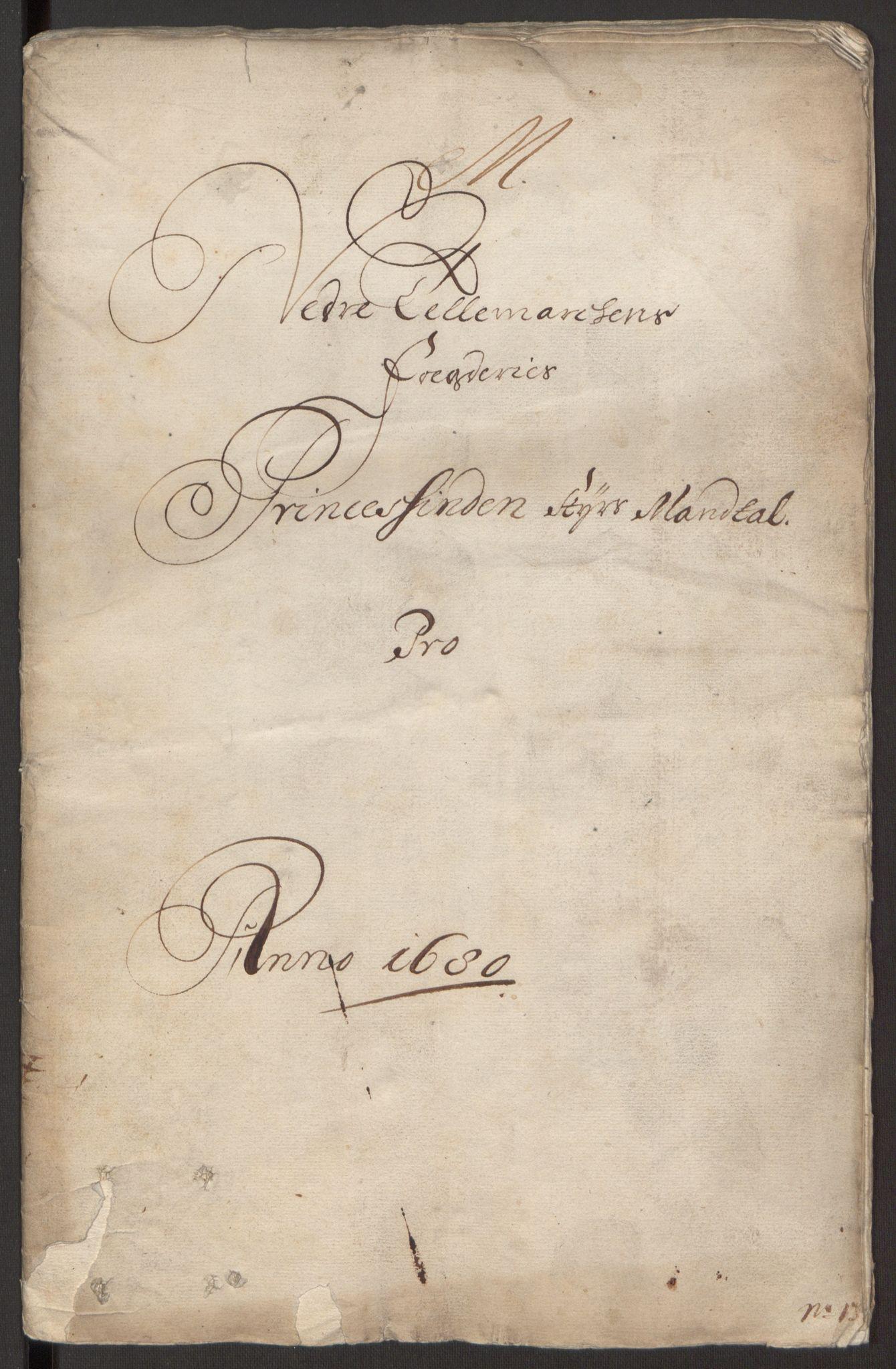 RA, Rentekammeret inntil 1814, Reviderte regnskaper, Fogderegnskap, R35/L2076: Fogderegnskap Øvre og Nedre Telemark, 1680-1684, s. 220
