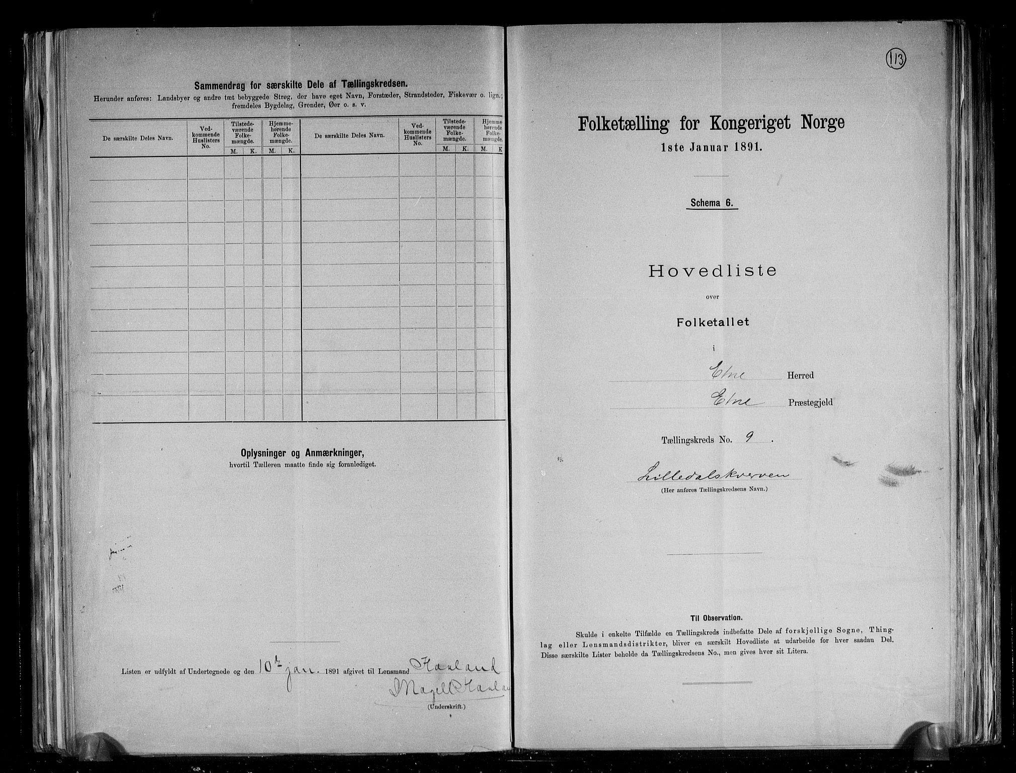 RA, Folketelling 1891 for 1211 Etne herred, 1891, s. 26