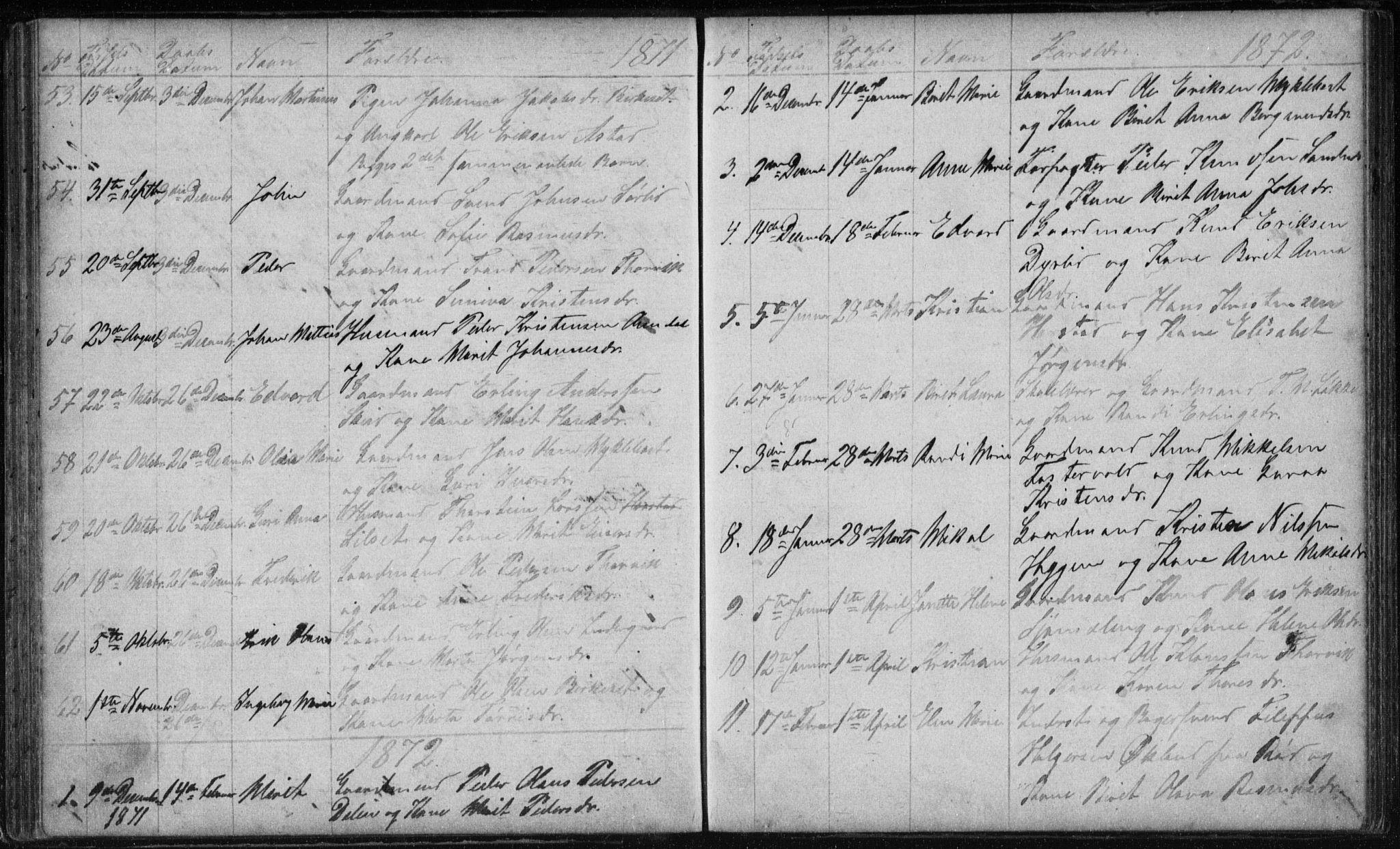 SAT, Ministerialprotokoller, klokkerbøker og fødselsregistre - Møre og Romsdal, 584/L0968: Klokkerbok nr. 584C01, 1862-1877
