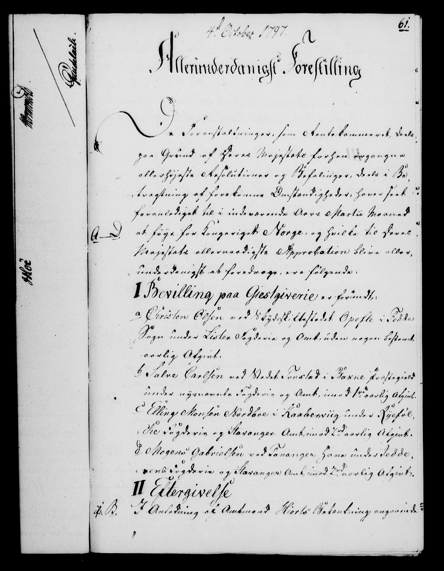 RA, Rentekammeret, Kammerkanselliet, G/Gf/Gfa/L0079: Norsk relasjons- og resolusjonsprotokoll (merket RK 52.79), 1797, s. 394