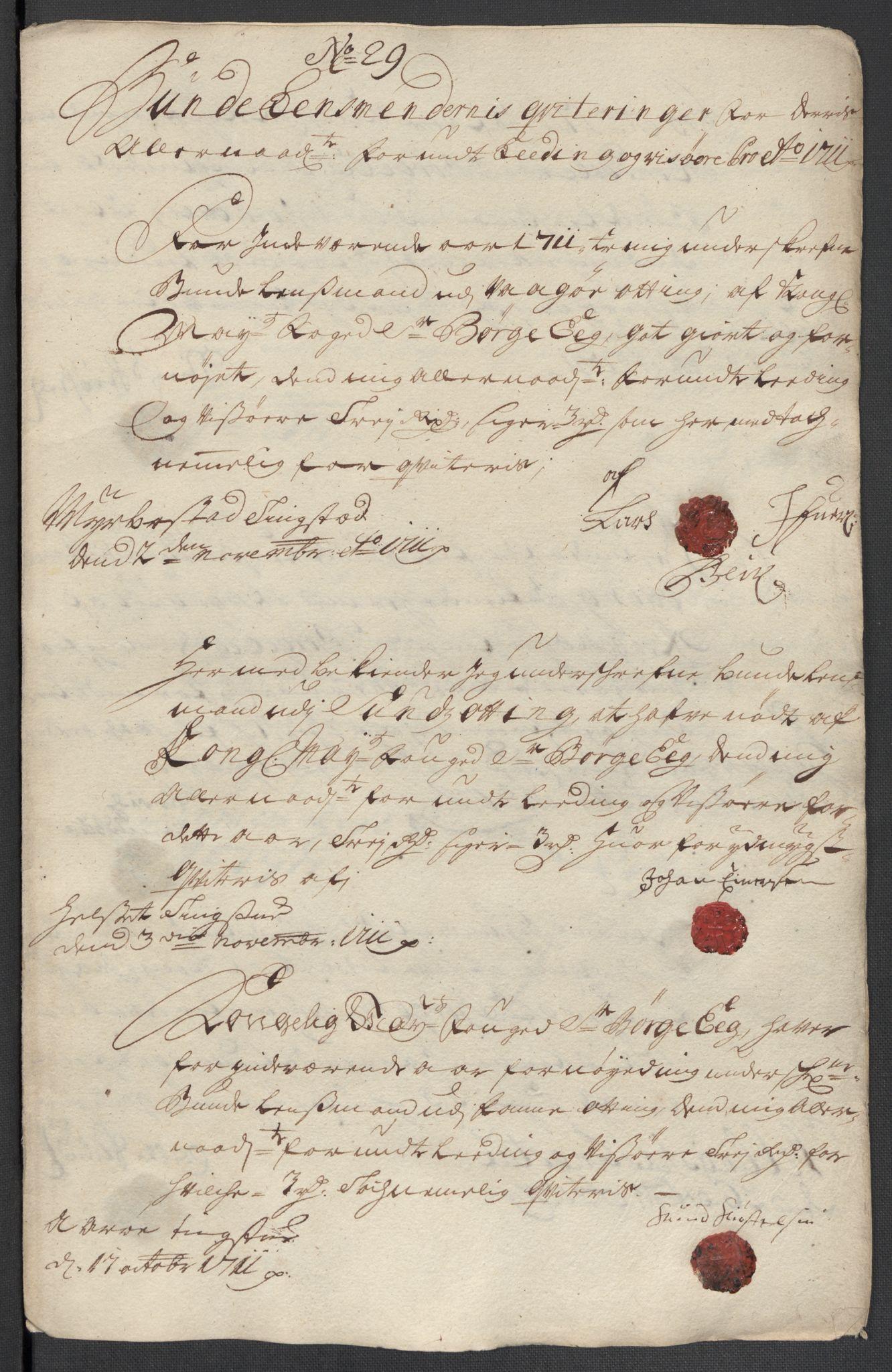 RA, Rentekammeret inntil 1814, Reviderte regnskaper, Fogderegnskap, R55/L3660: Fogderegnskap Romsdal, 1711, s. 429