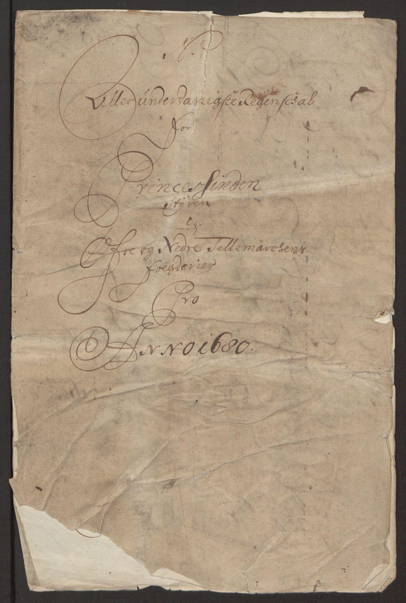 RA, Rentekammeret inntil 1814, Reviderte regnskaper, Fogderegnskap, R35/L2076: Fogderegnskap Øvre og Nedre Telemark, 1680-1684, s. 240