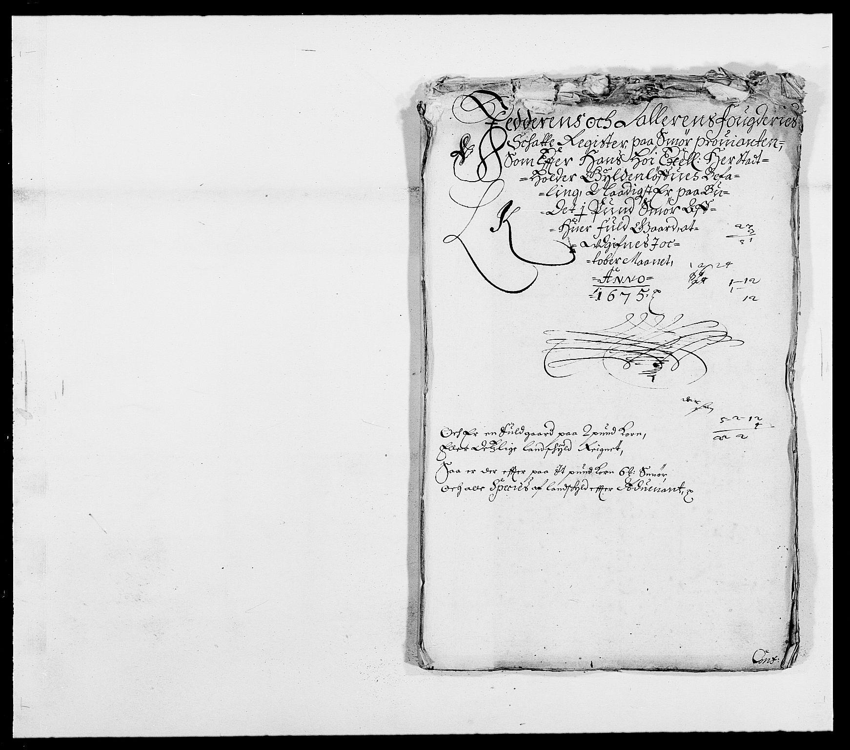 RA, Rentekammeret inntil 1814, Reviderte regnskaper, Fogderegnskap, R46/L2715: Fogderegnskap Jæren og Dalane, 1675, s. 274