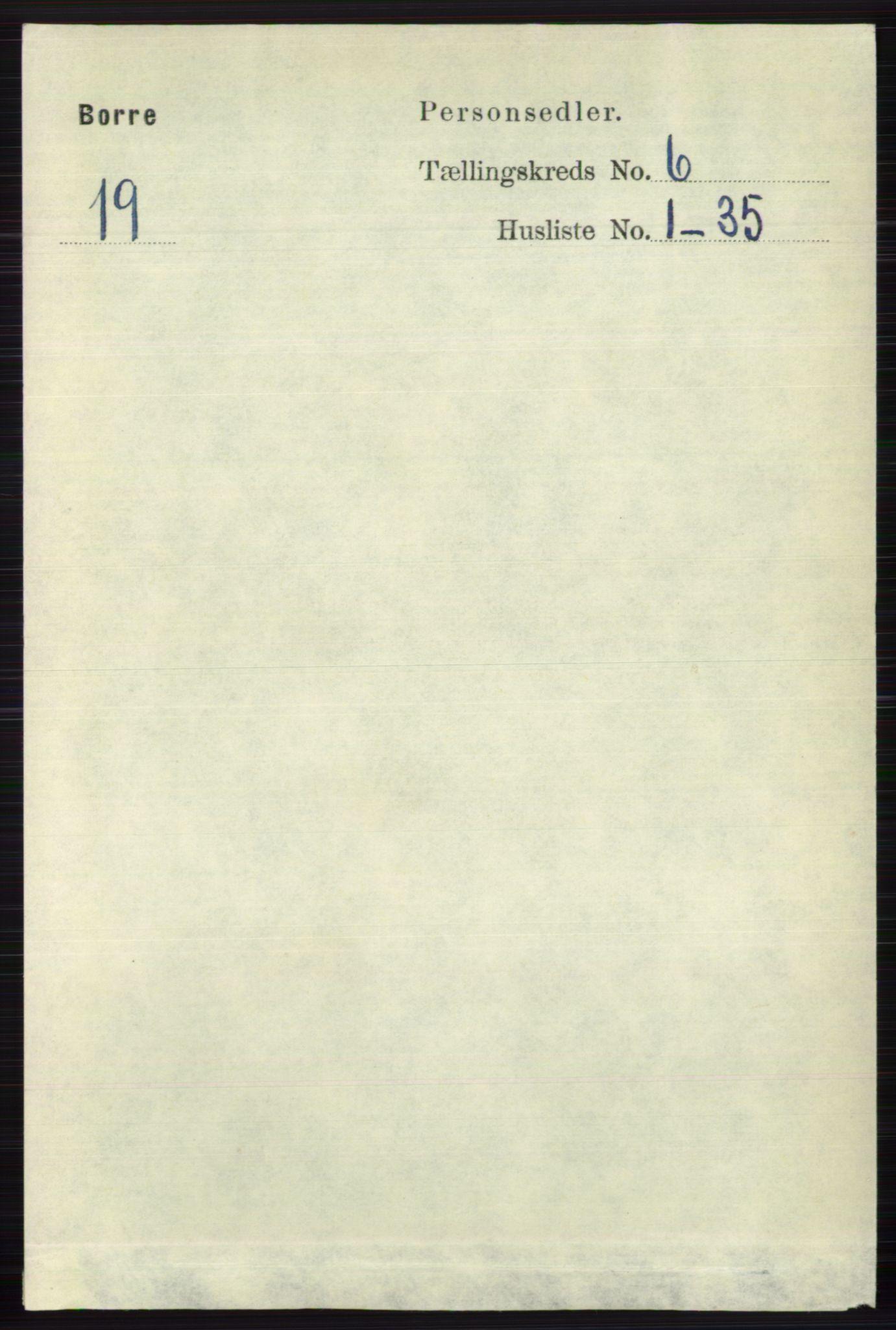 RA, Folketelling 1891 for 0717 Borre herred, 1891, s. 2640