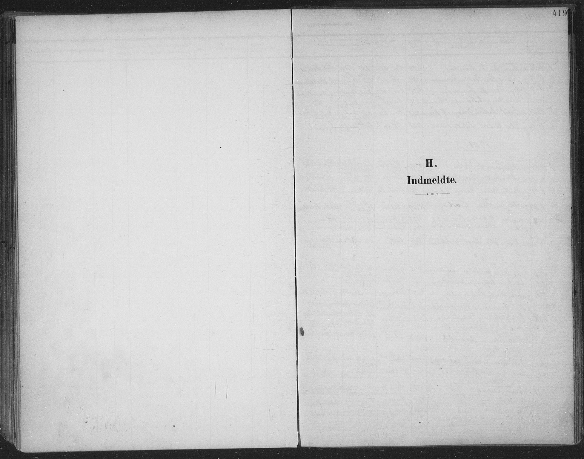 SAKO, Skien kirkebøker, F/Fa/L0011: Ministerialbok nr. 11, 1900-1907, s. 419