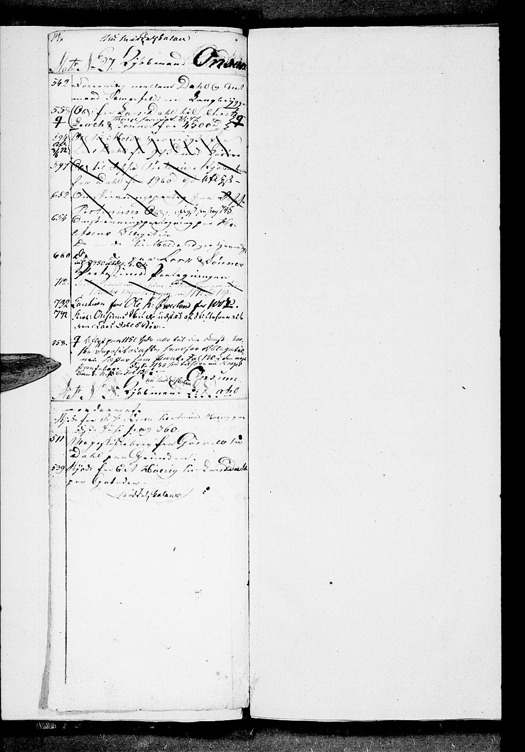SAT, Molde byfogd, 2A/L0001: Panteregister nr. 1, 1790-1823, s. 14