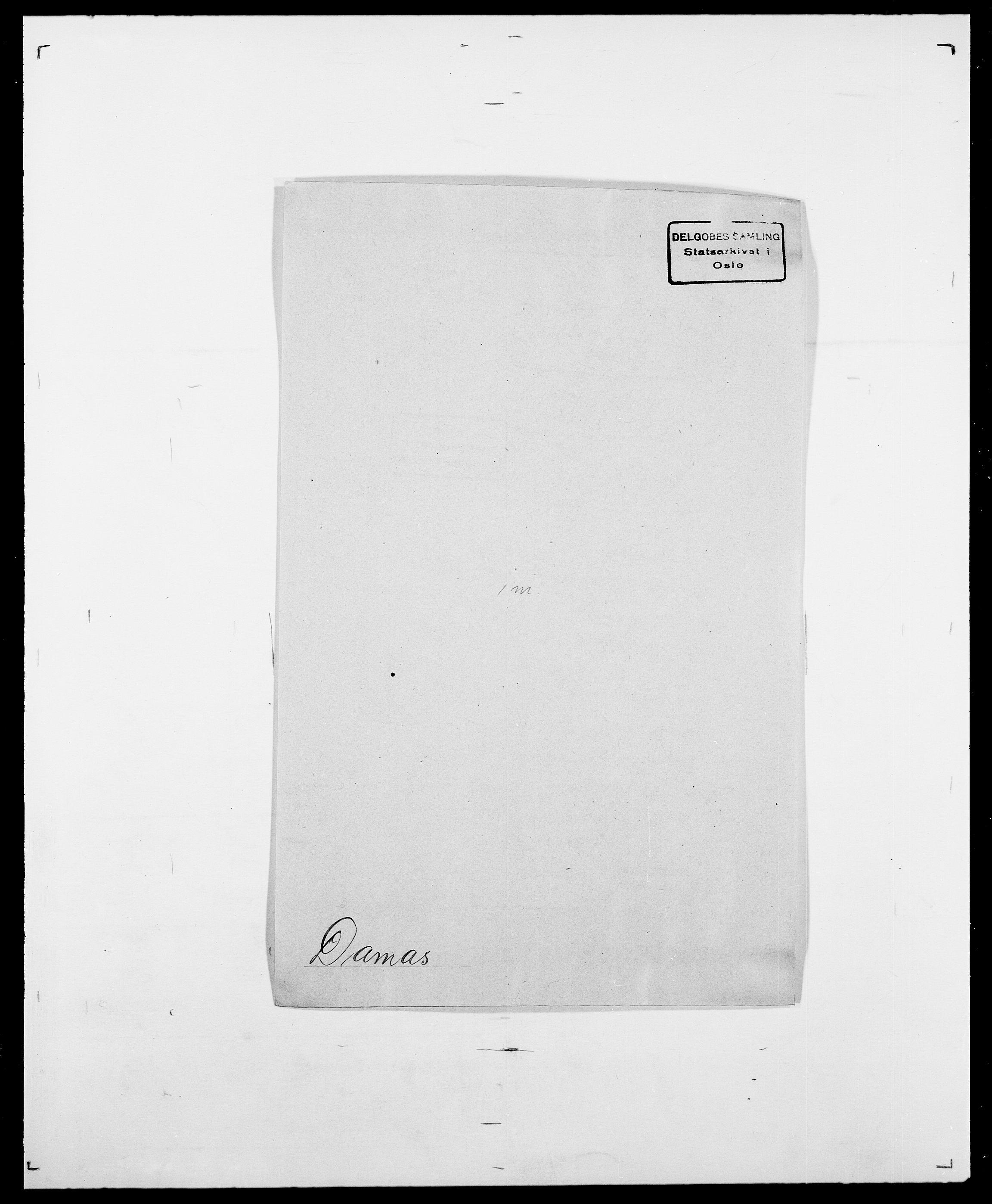 SAO, Delgobe, Charles Antoine - samling, D/Da/L0009: Dahl - v. Düren, s. 264