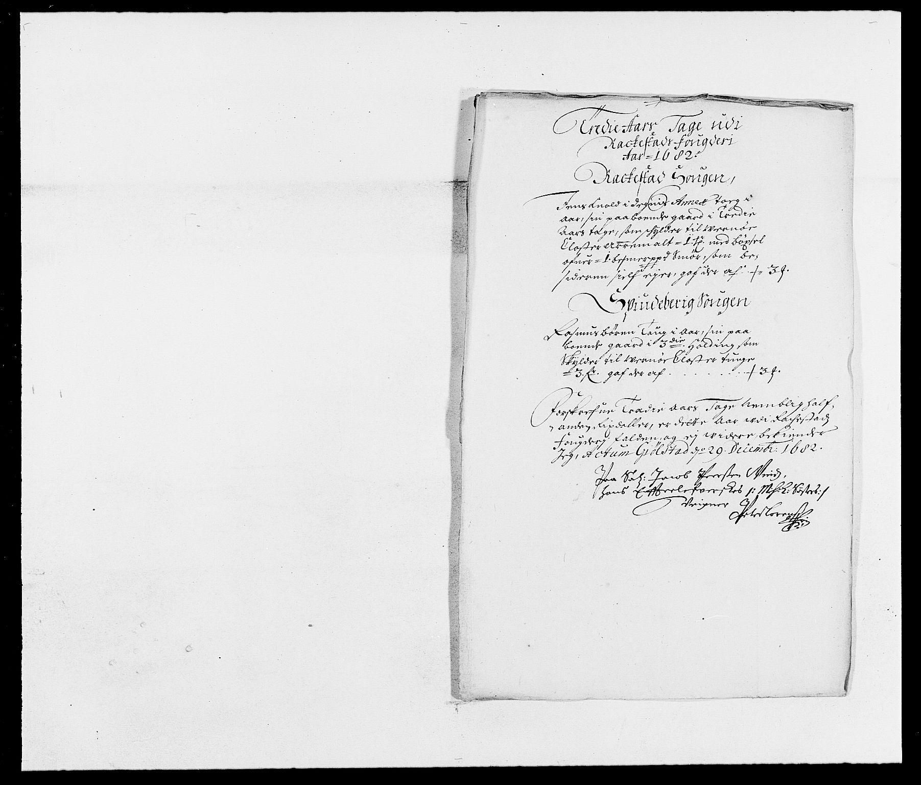 RA, Rentekammeret inntil 1814, Reviderte regnskaper, Fogderegnskap, R05/L0273: Fogderegnskap Rakkestad, 1682, s. 95