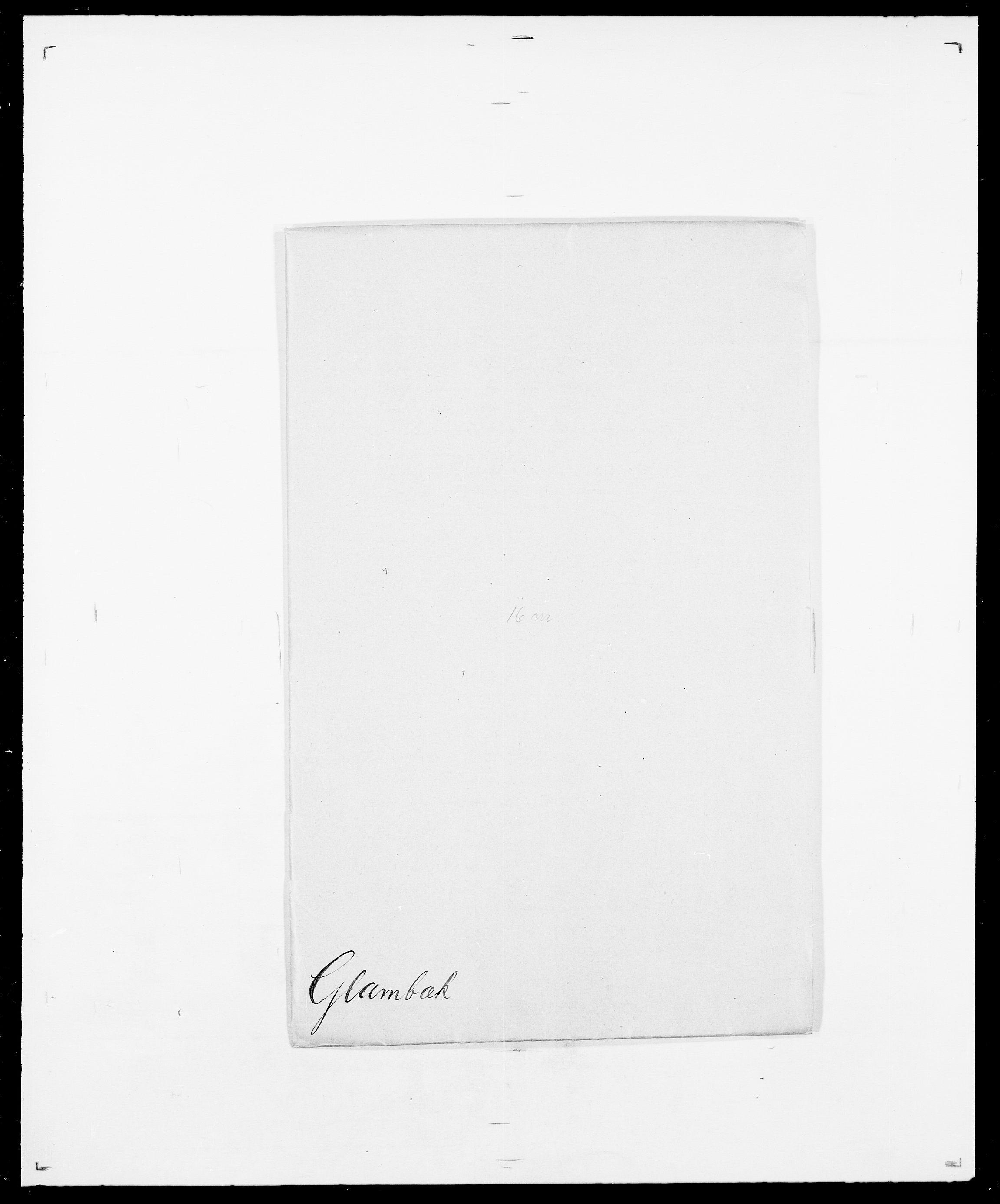 SAO, Delgobe, Charles Antoine - samling, D/Da/L0014: Giebdhausen - Grip, s. 274
