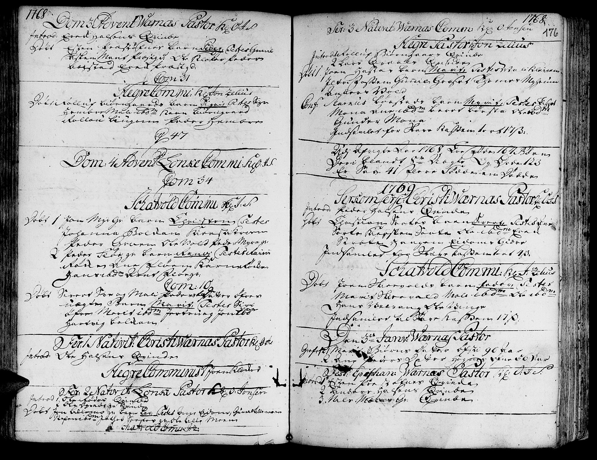 SAT, Ministerialprotokoller, klokkerbøker og fødselsregistre - Nord-Trøndelag, 709/L0057: Ministerialbok nr. 709A05, 1755-1780, s. 176