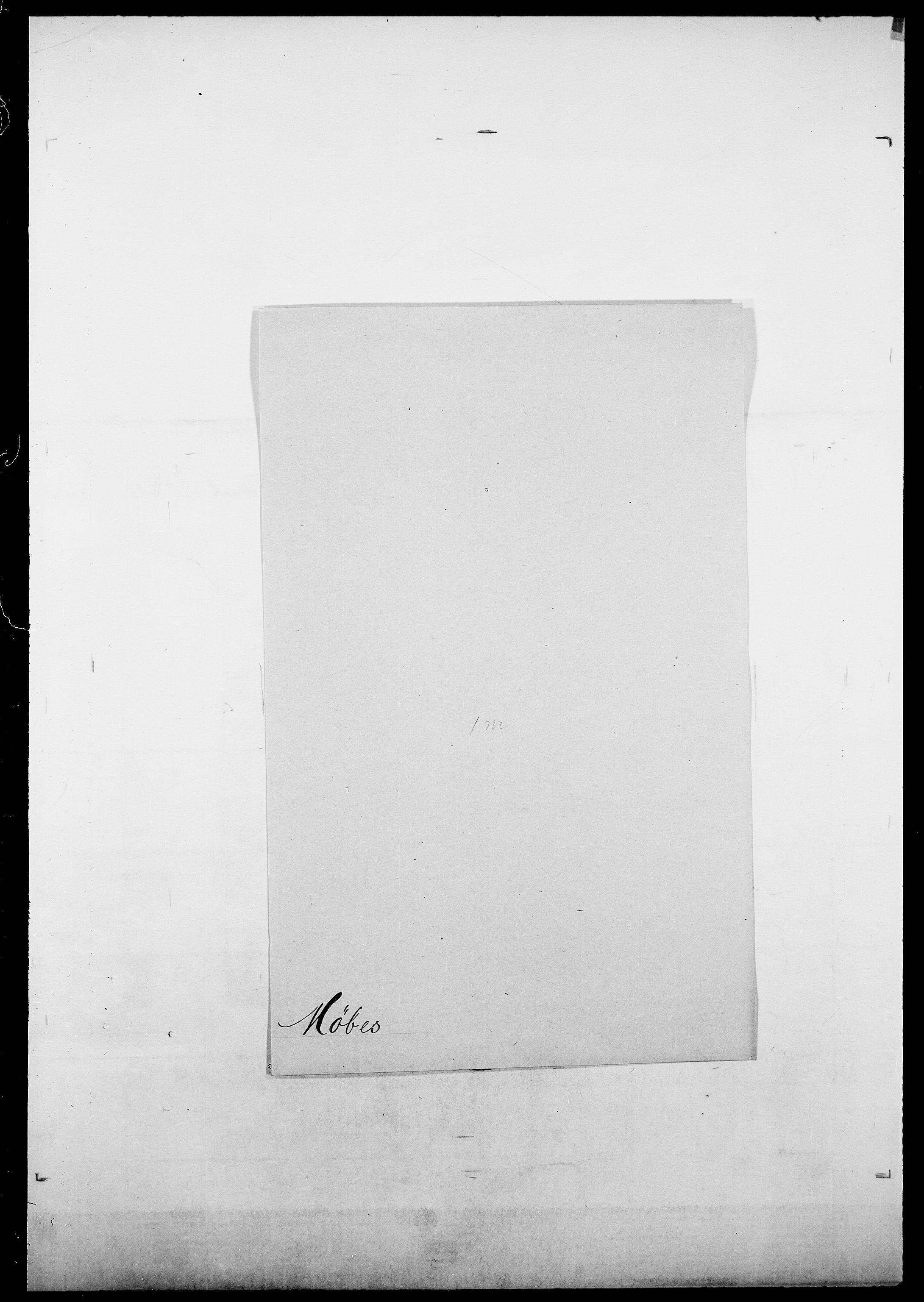 SAO, Delgobe, Charles Antoine - samling, D/Da/L0027: Morath - v. Møsting, s. 507