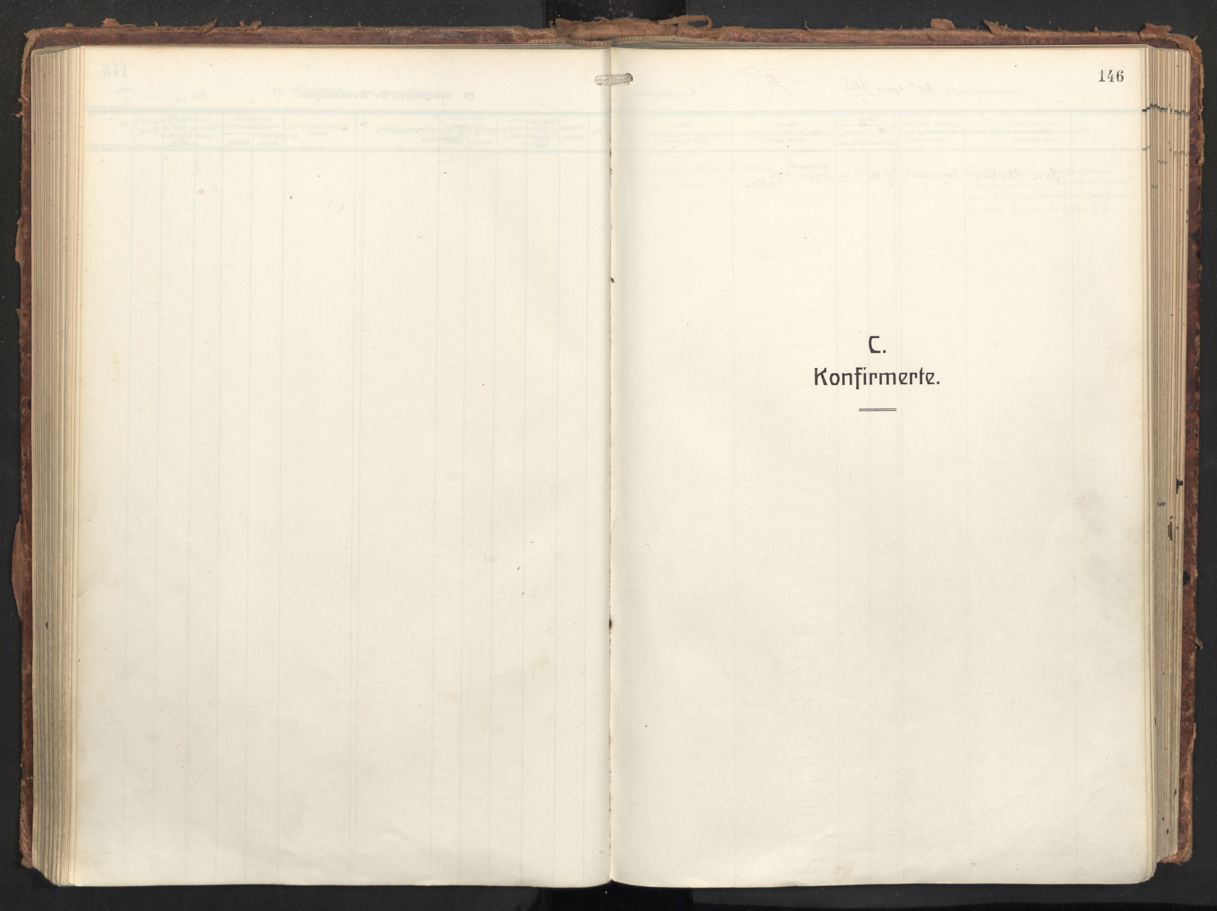 SAT, Ministerialprotokoller, klokkerbøker og fødselsregistre - Nordland, 874/L1064: Ministerialbok nr. 874A08, 1915-1926, s. 146