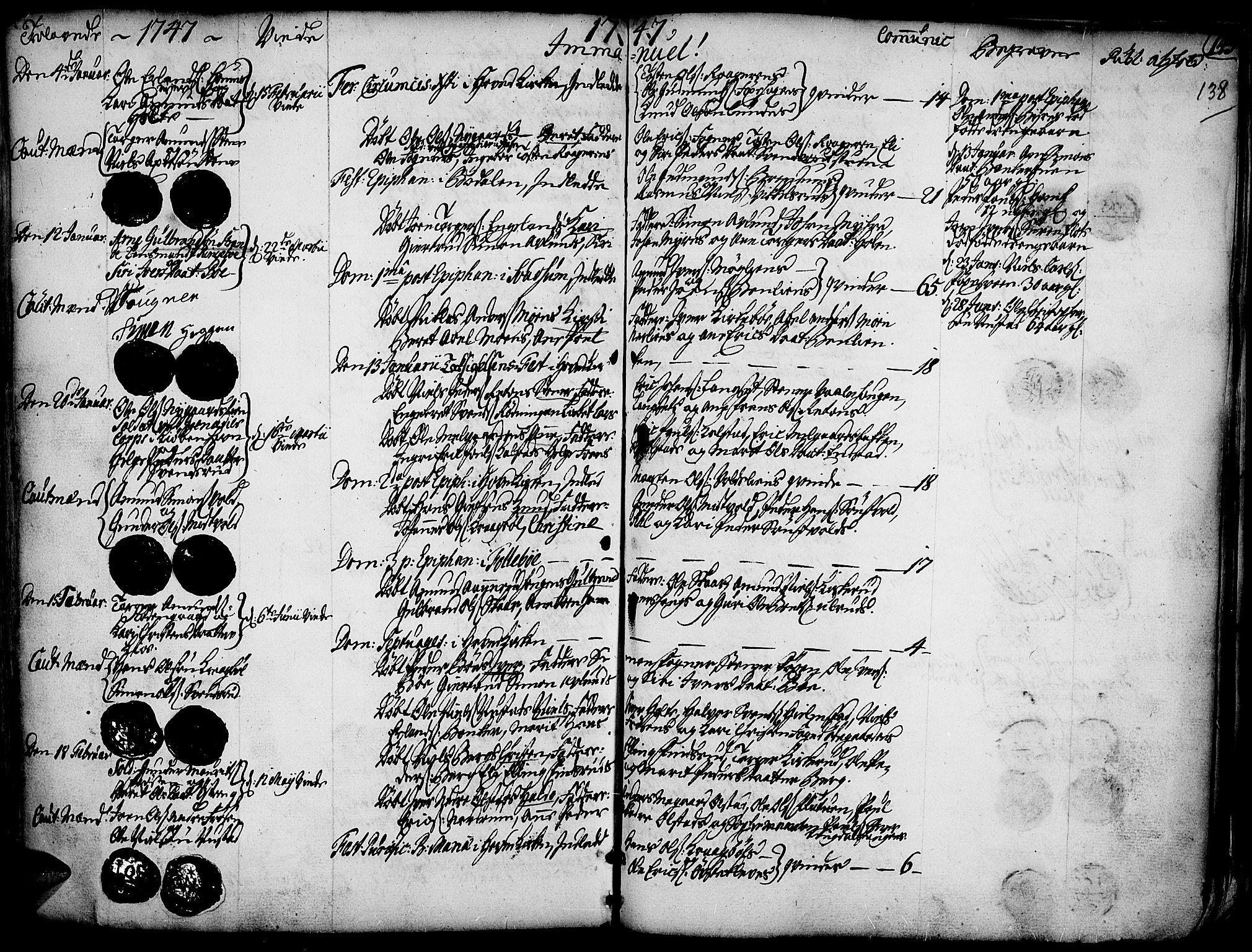 SAH, Gausdal prestekontor, Ministerialbok nr. 2, 1729-1757, s. 138