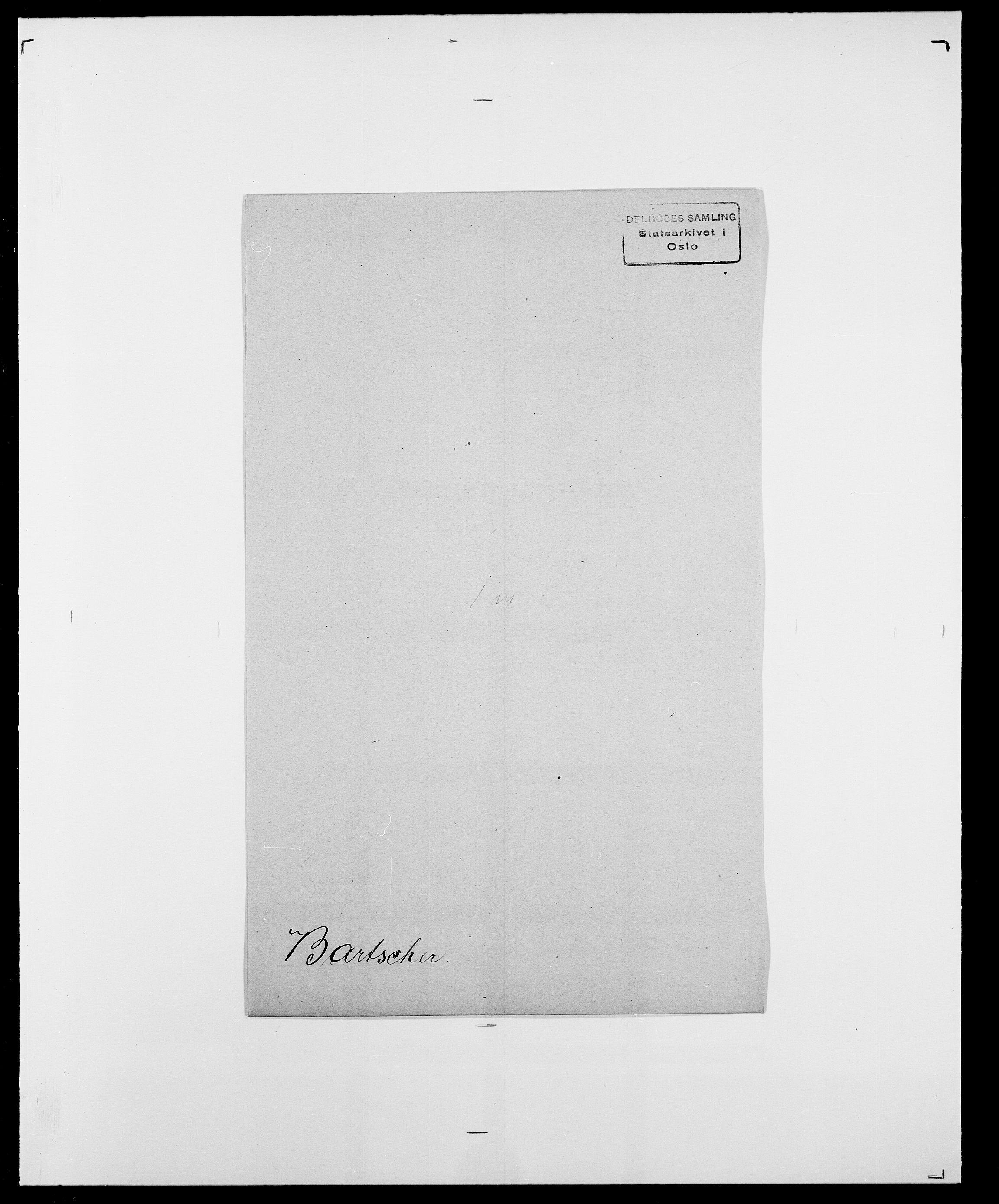 SAO, Delgobe, Charles Antoine - samling, D/Da/L0003: Barca - Bergen, s. 401