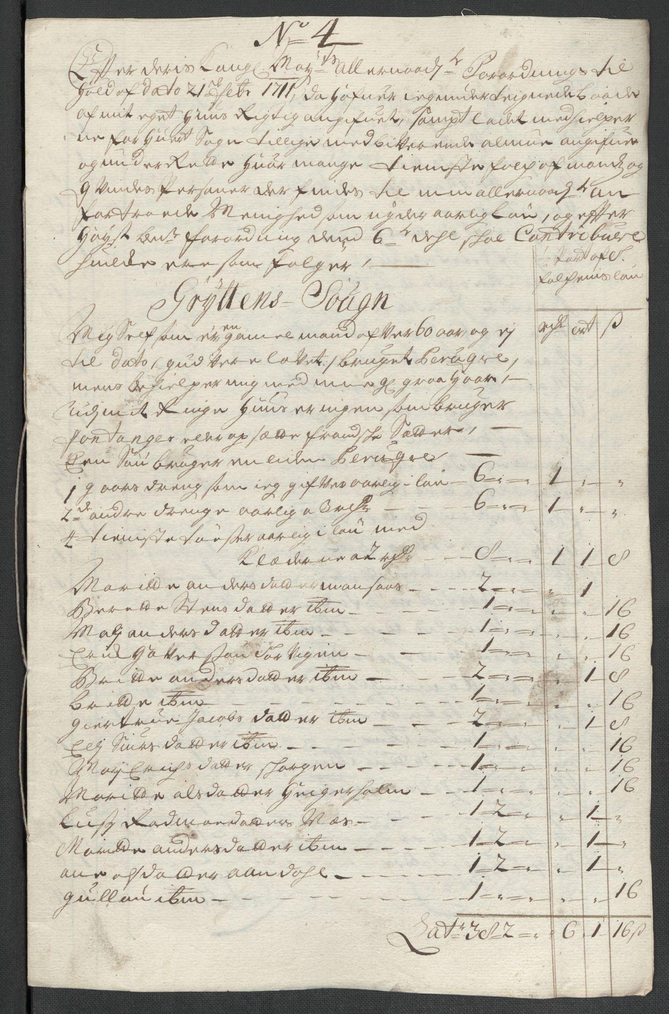 RA, Rentekammeret inntil 1814, Reviderte regnskaper, Fogderegnskap, R55/L3660: Fogderegnskap Romsdal, 1711, s. 159