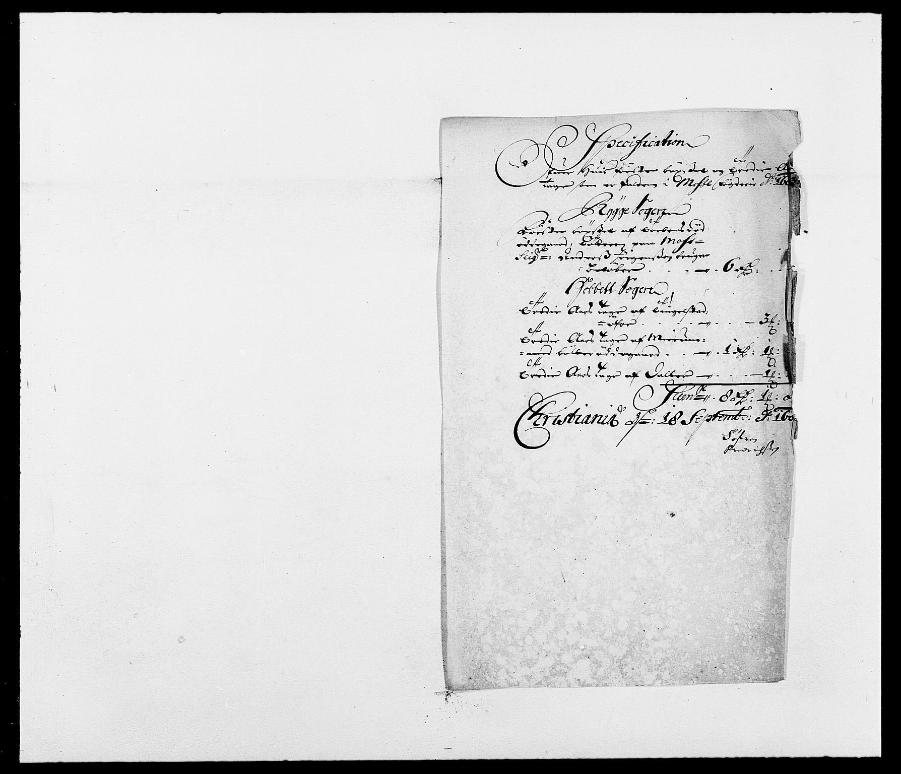 RA, Rentekammeret inntil 1814, Reviderte regnskaper, Fogderegnskap, R02/L0103: Fogderegnskap Moss og Verne kloster, 1682-1684, s. 381