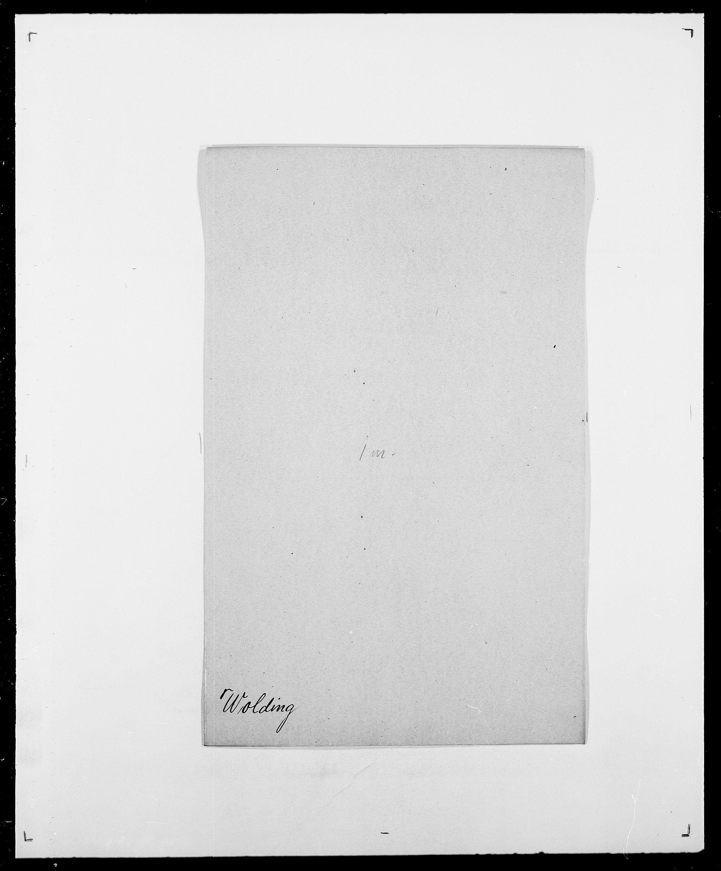 SAO, Delgobe, Charles Antoine - samling, D/Da/L0042: Vilain - Wulf, Wulff, se også Wolf, s. 618