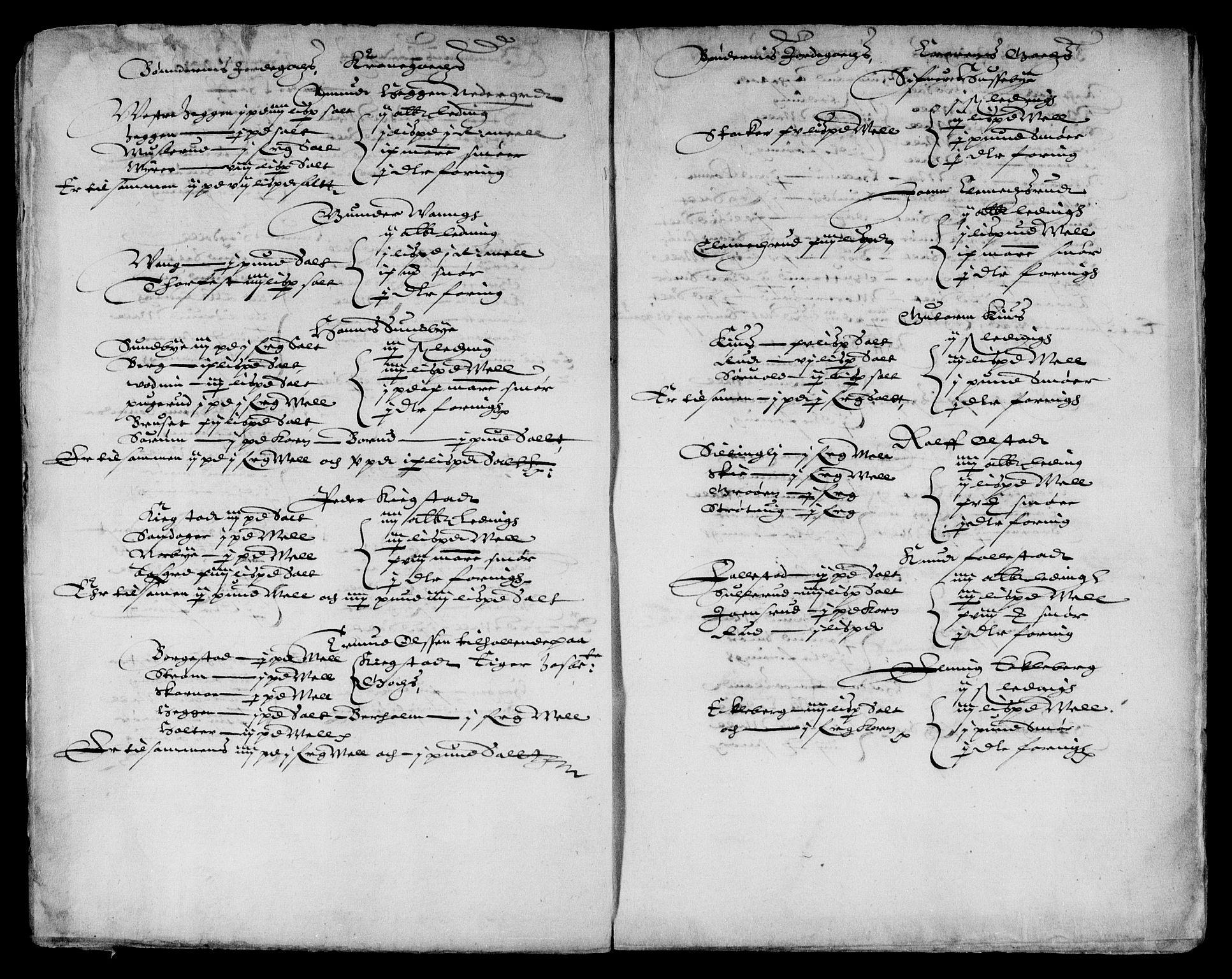 RA, Danske Kanselli, Skapsaker, F/L0038: Skap 9, pakke 324-350, 1615-1721, s. 202