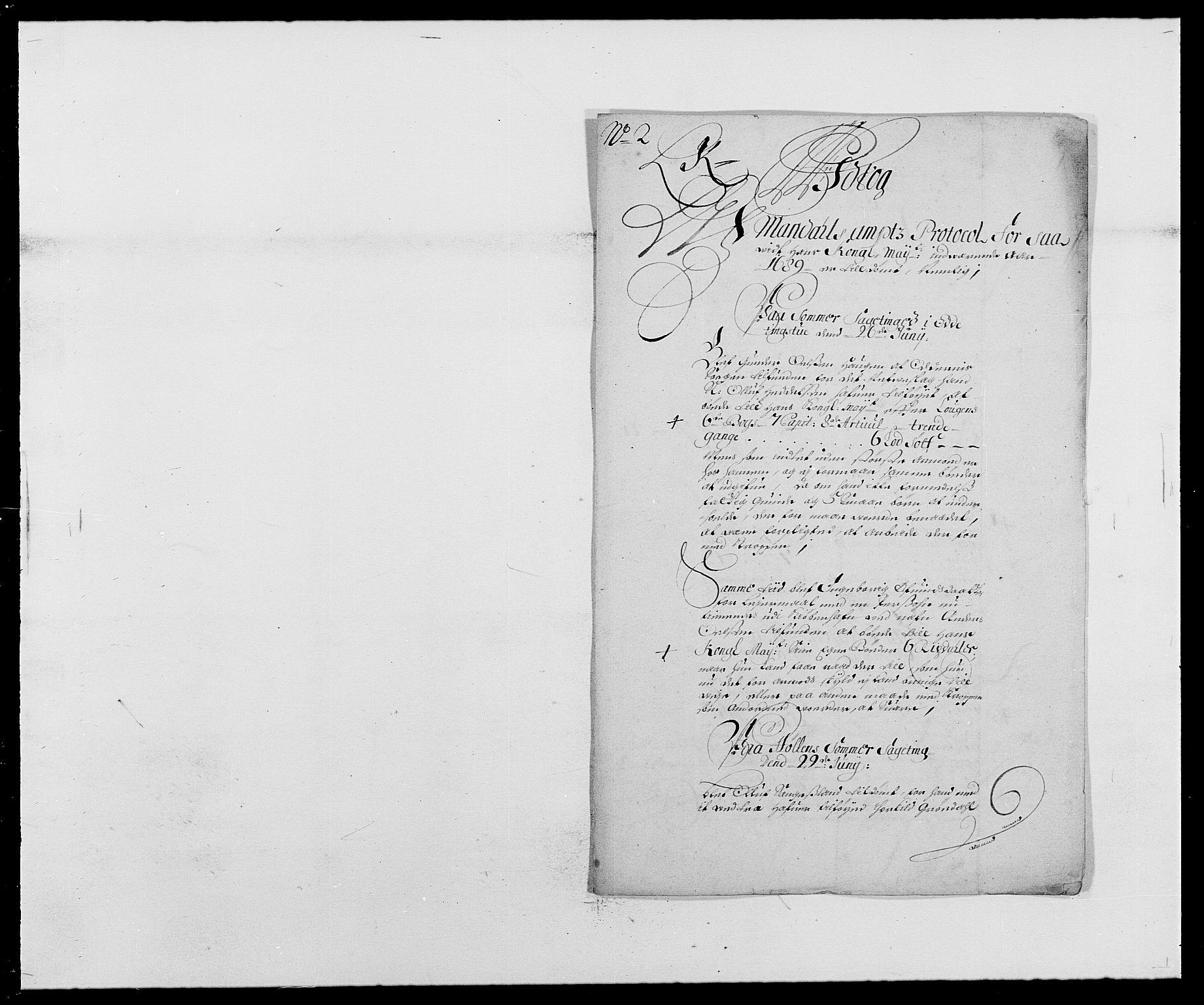 RA, Rentekammeret inntil 1814, Reviderte regnskaper, Fogderegnskap, R42/L2543: Mandal fogderi, 1688-1691, s. 159