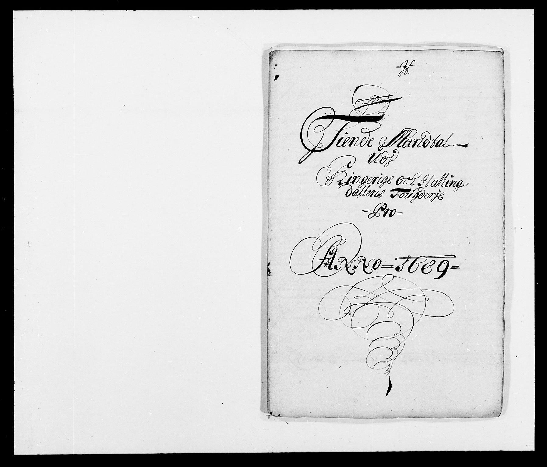RA, Rentekammeret inntil 1814, Reviderte regnskaper, Fogderegnskap, R21/L1447: Fogderegnskap Ringerike og Hallingdal, 1687-1689, s. 340