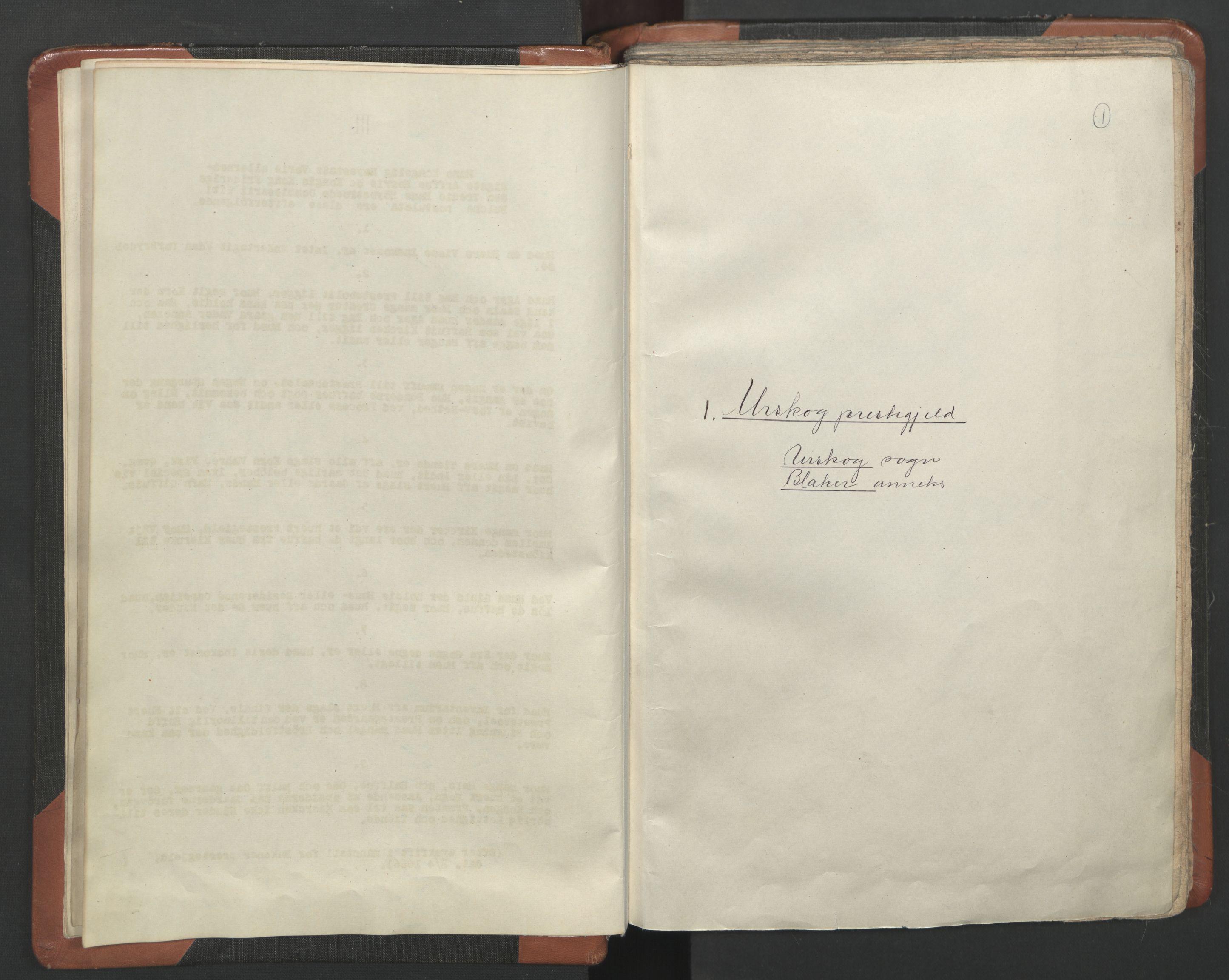 RA, Sogneprestenes manntall 1664-1666, nr. 3: Nedre Romerike prosti, 1664-1666, s. 1