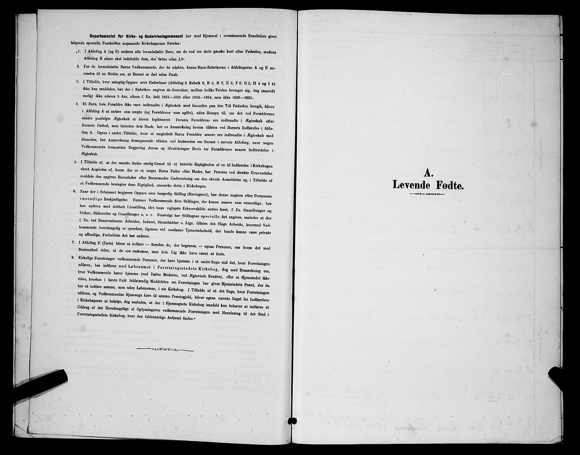 SATØ, Vadsø sokneprestkontor, H/Hb/L0004klokker: Klokkerbok nr. 4, 1885-1895