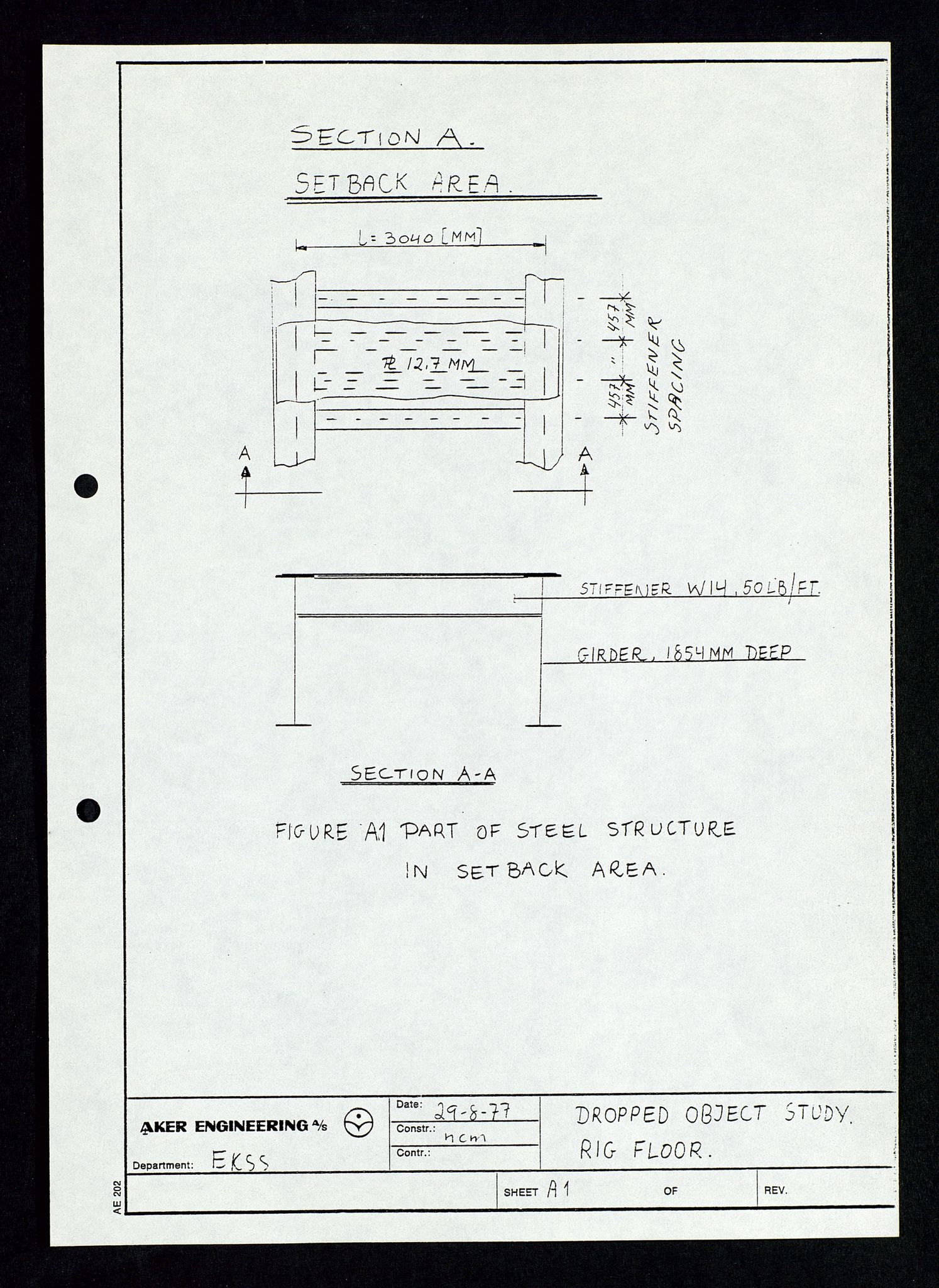 SAST, Pa 1339 - Statoil ASA, D/Dm/L0348: Gravitasjonsplattform betong, 1975-1978, s. 130