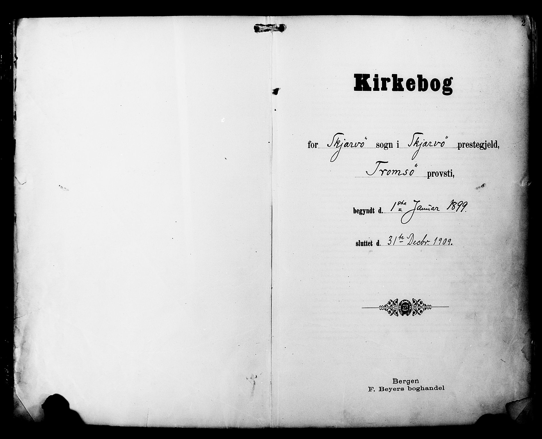 SATØ, Skjervøy sokneprestkontor, H/Ha/Haa/L0015kirke: Ministerialbok nr. 15, 1899-1909, s. 2