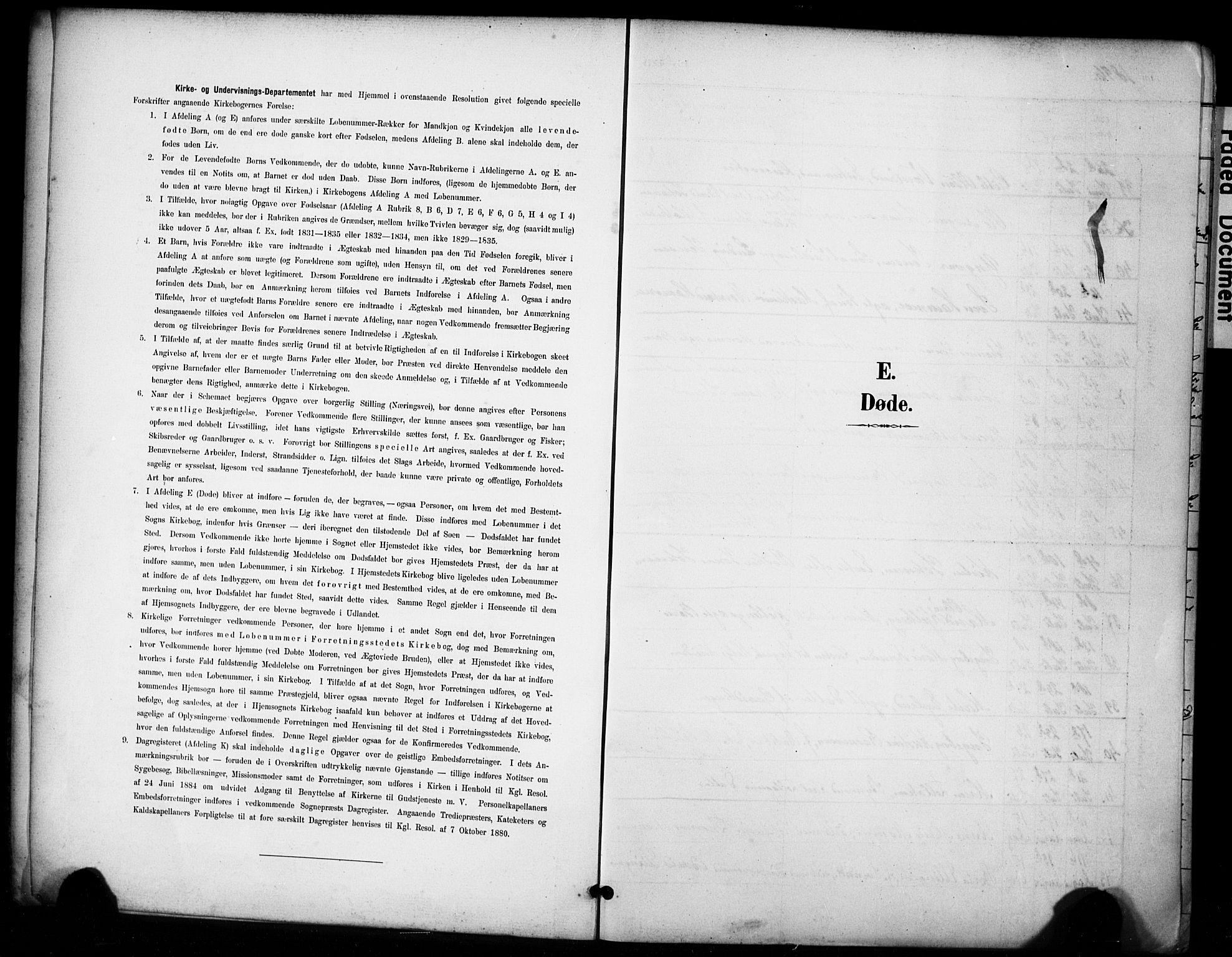 SAST, Domkirken sokneprestkontor, 30/30BA/L0032: Ministerialbok nr. A 31, 1896-1917