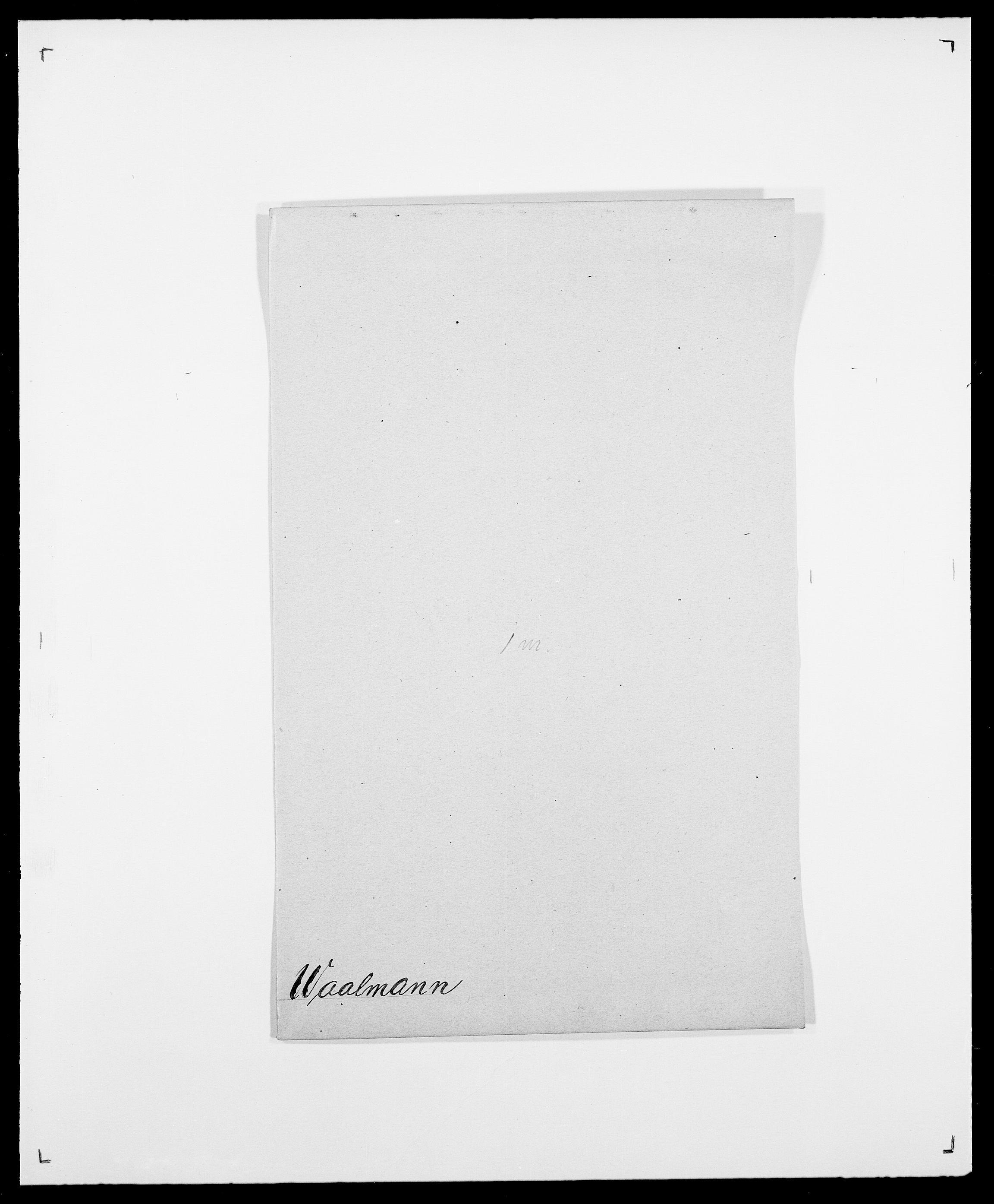 SAO, Delgobe, Charles Antoine - samling, D/Da/L0040: Usgaard - Velund, s. 61