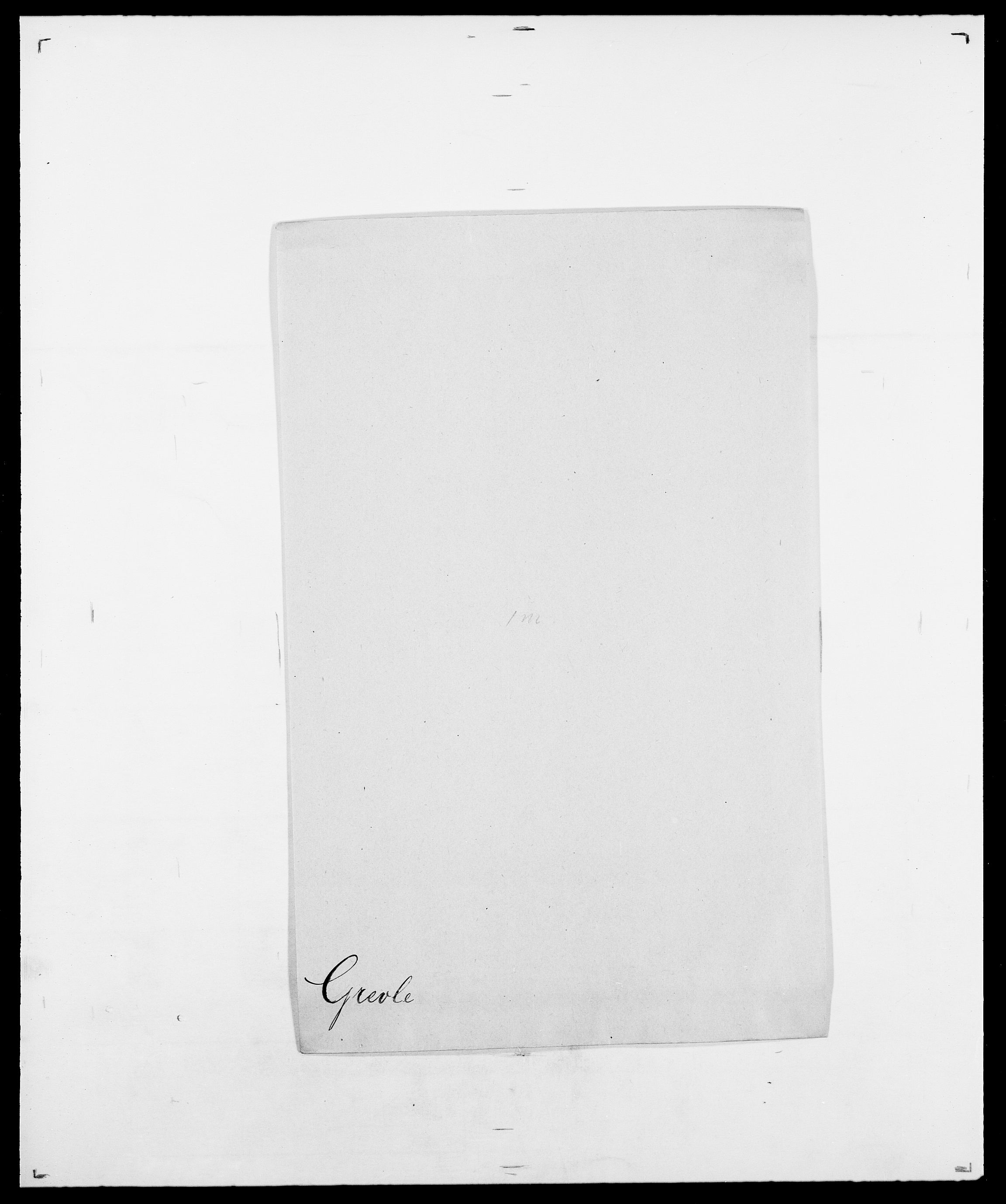 SAO, Delgobe, Charles Antoine - samling, D/Da/L0014: Giebdhausen - Grip, s. 637