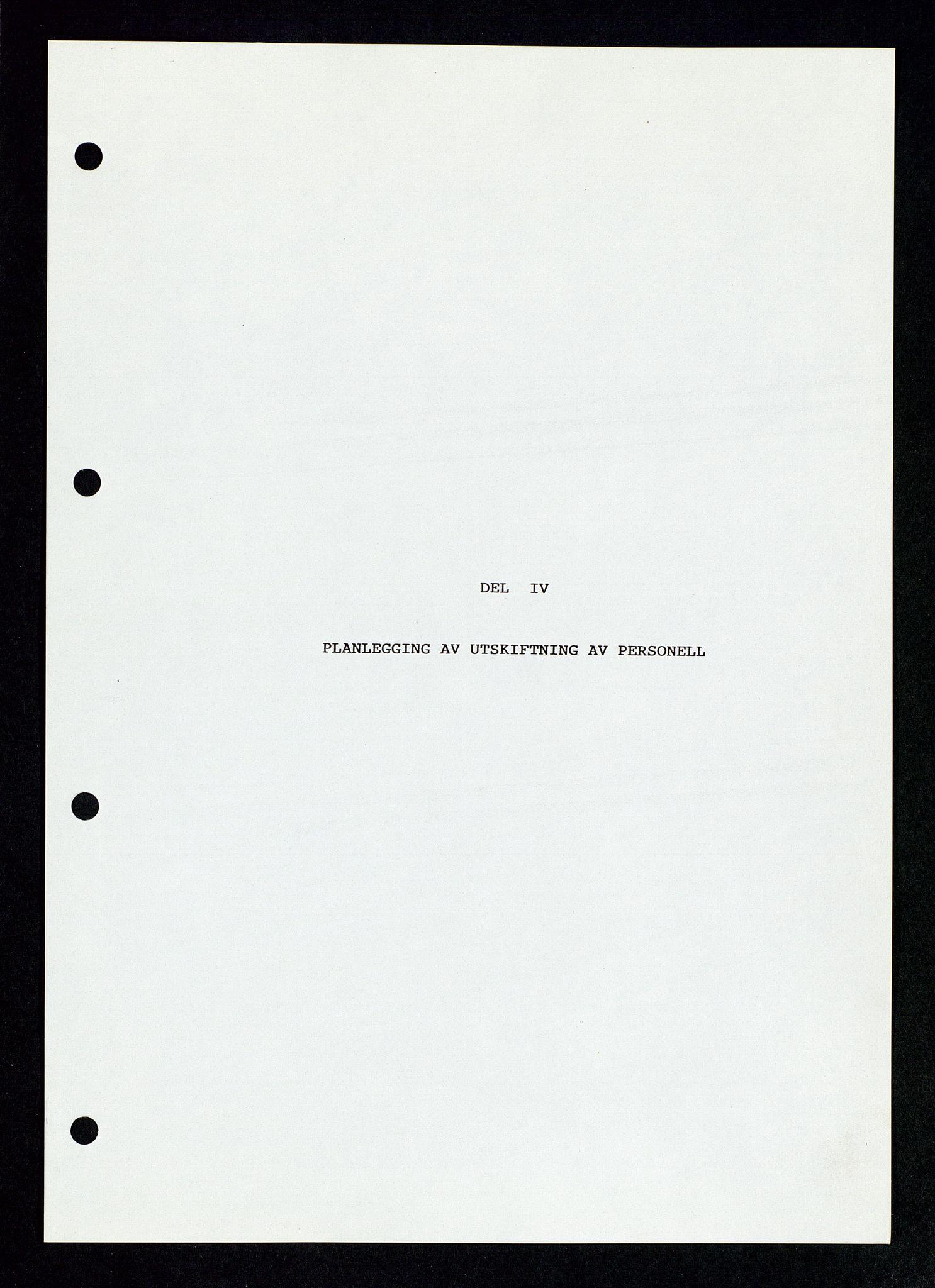 SAST, Pa 1339 - Statoil ASA, D/Dm/L0123: Rapporter, 1985-1988, s. 33